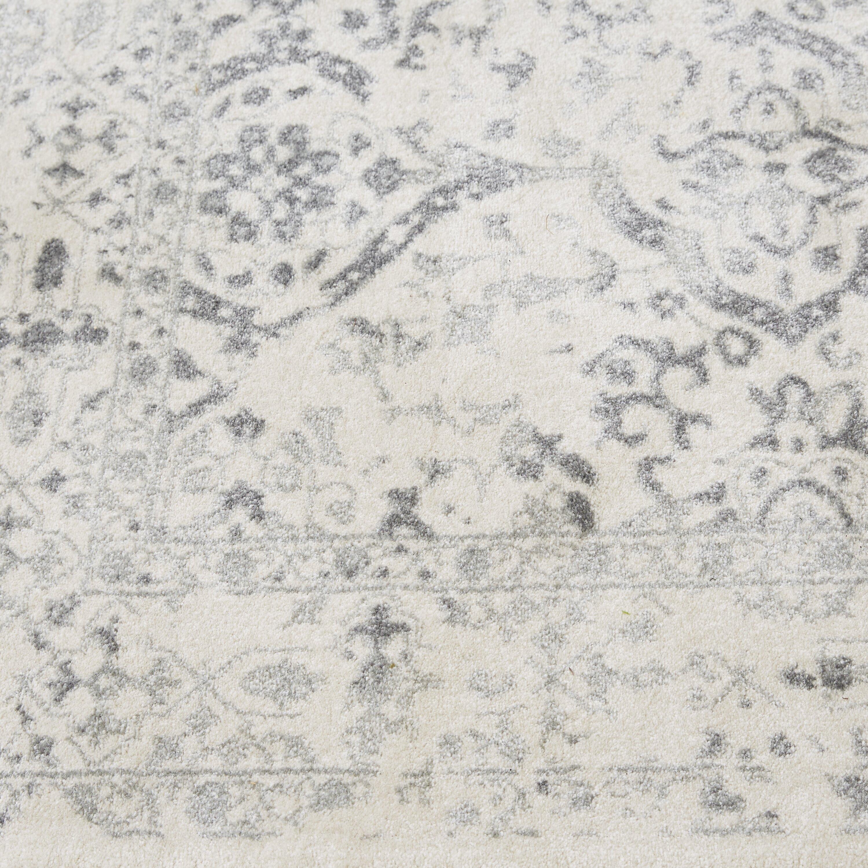 nuloom vintage mabelle ivory  grey area rug  u0026 reviews