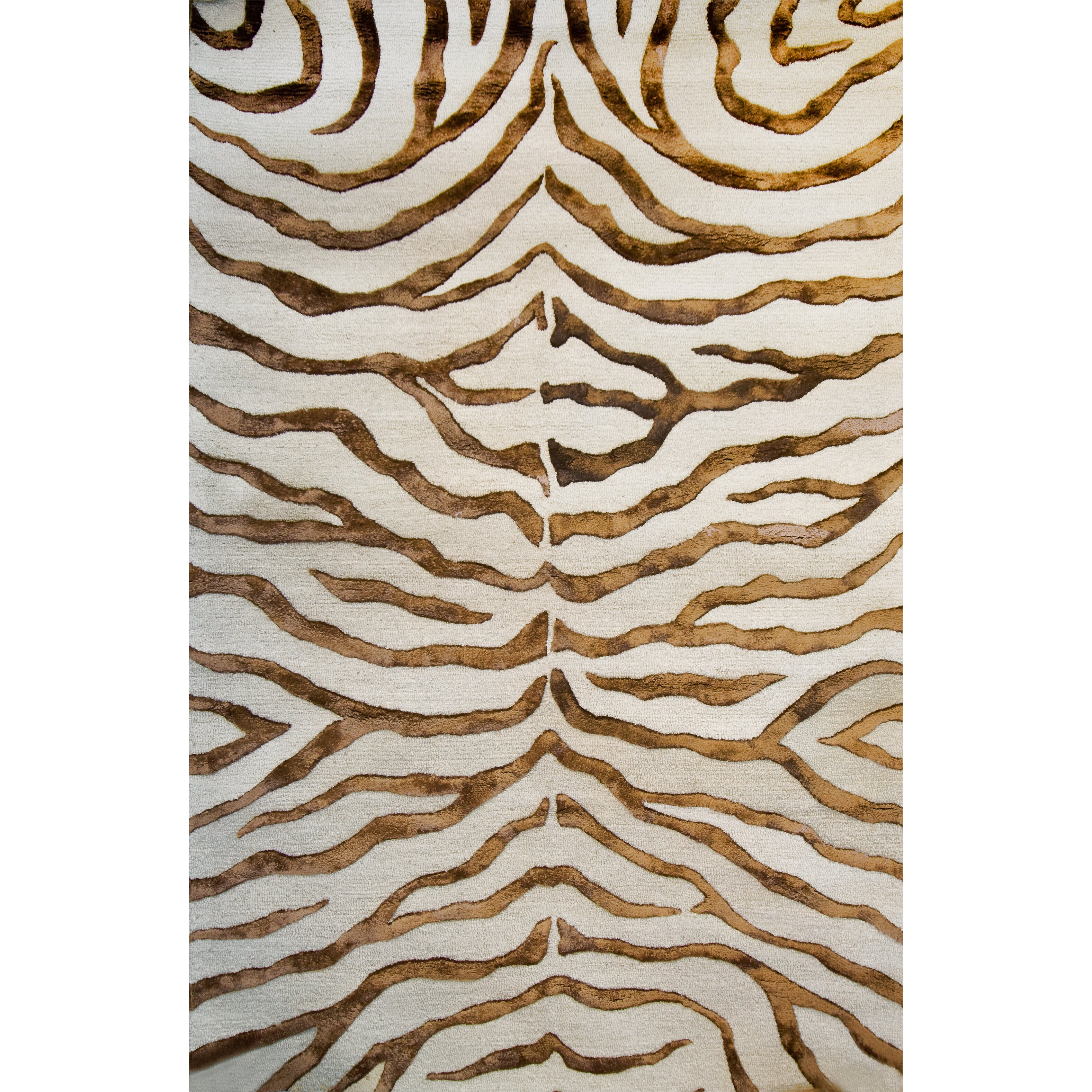 NuLOOM Earth Soft Zebra Brown Area Rug & Reviews