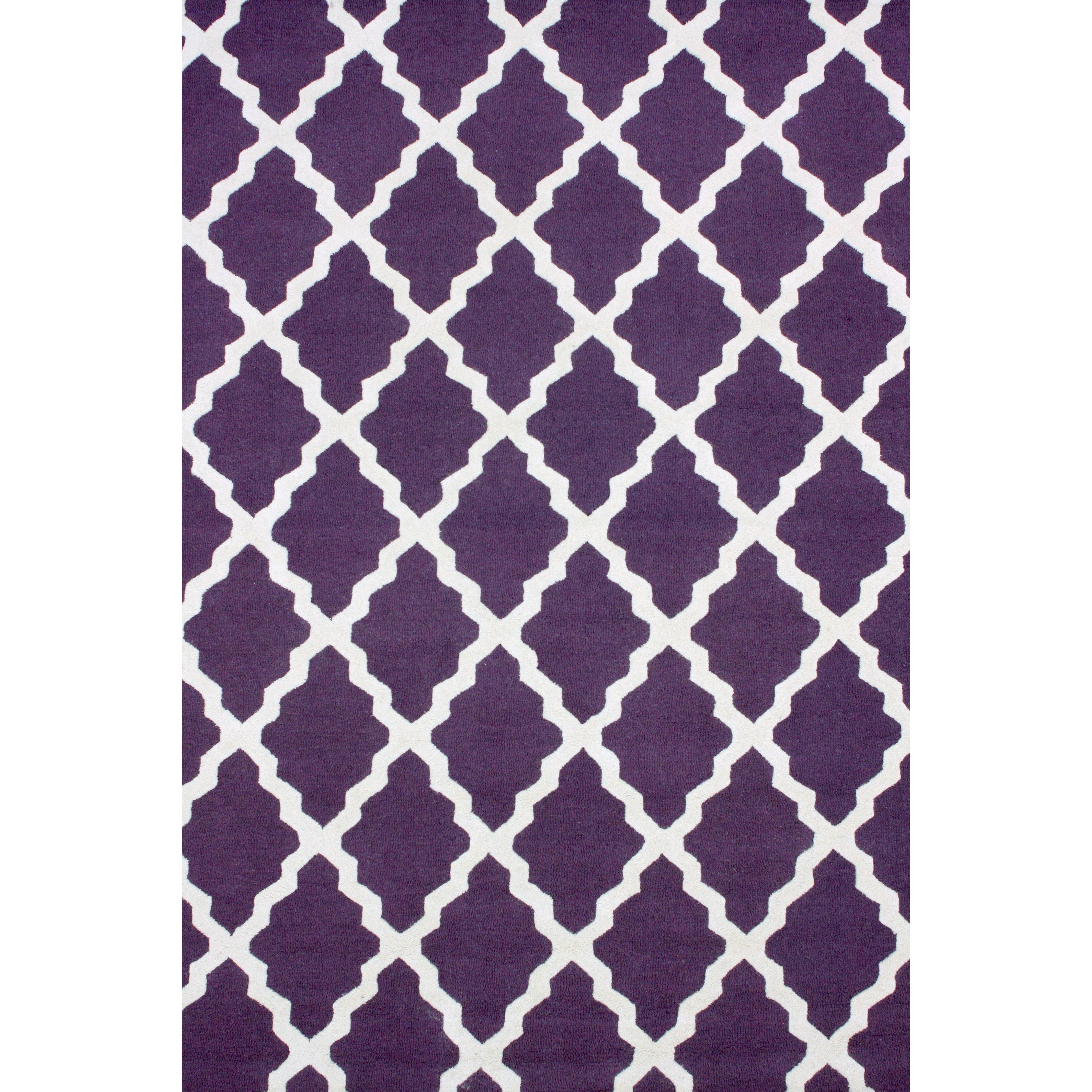 NuLOOM Moderna Purple Moroccan Trellis Area Rug & Reviews