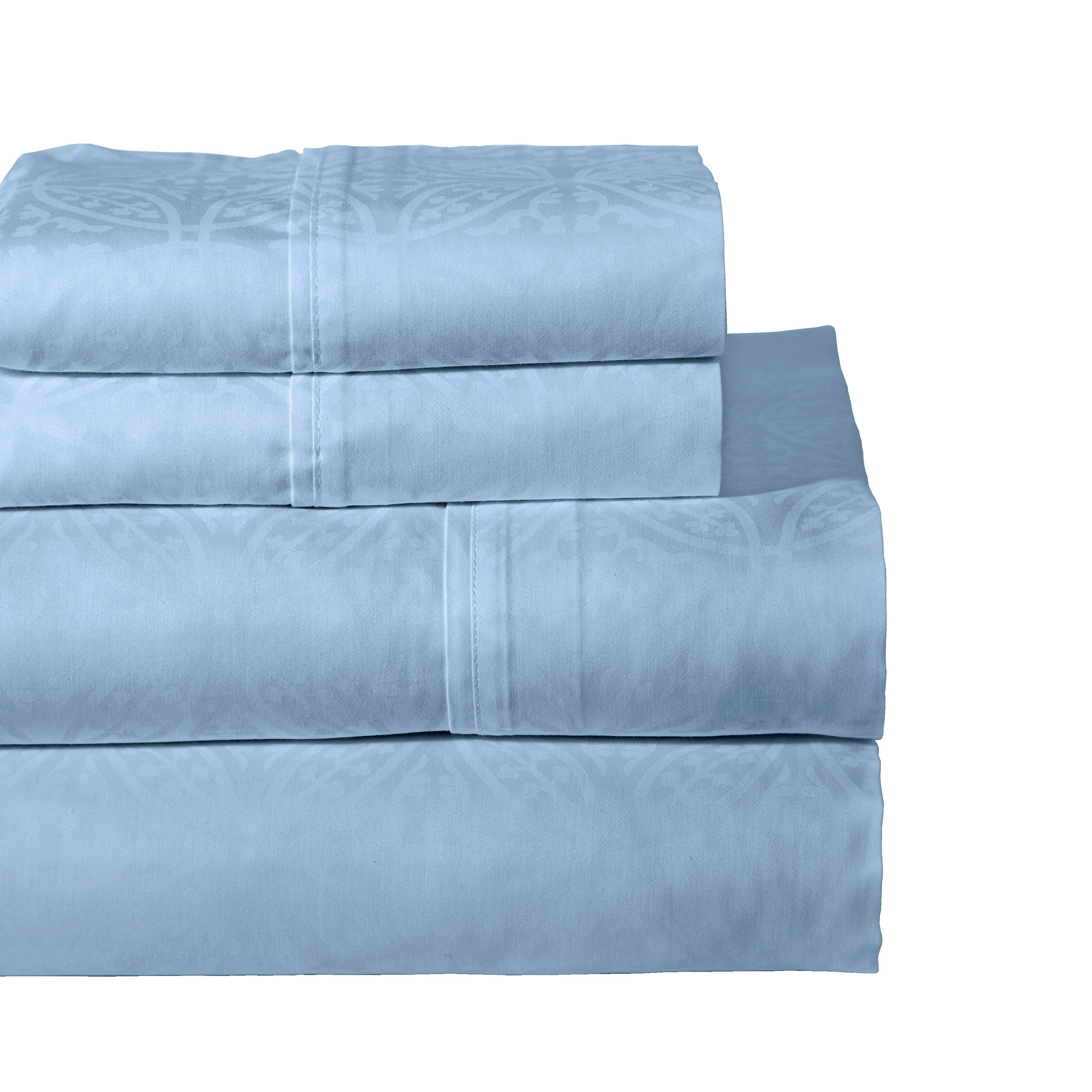 Pointehaven 300 thread count cotton sheet set reviews for What is thread count in sheets