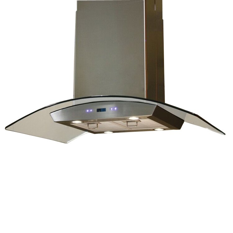 Cavaliere 36 900 CFM Island Range Hood Reviews Wayfair