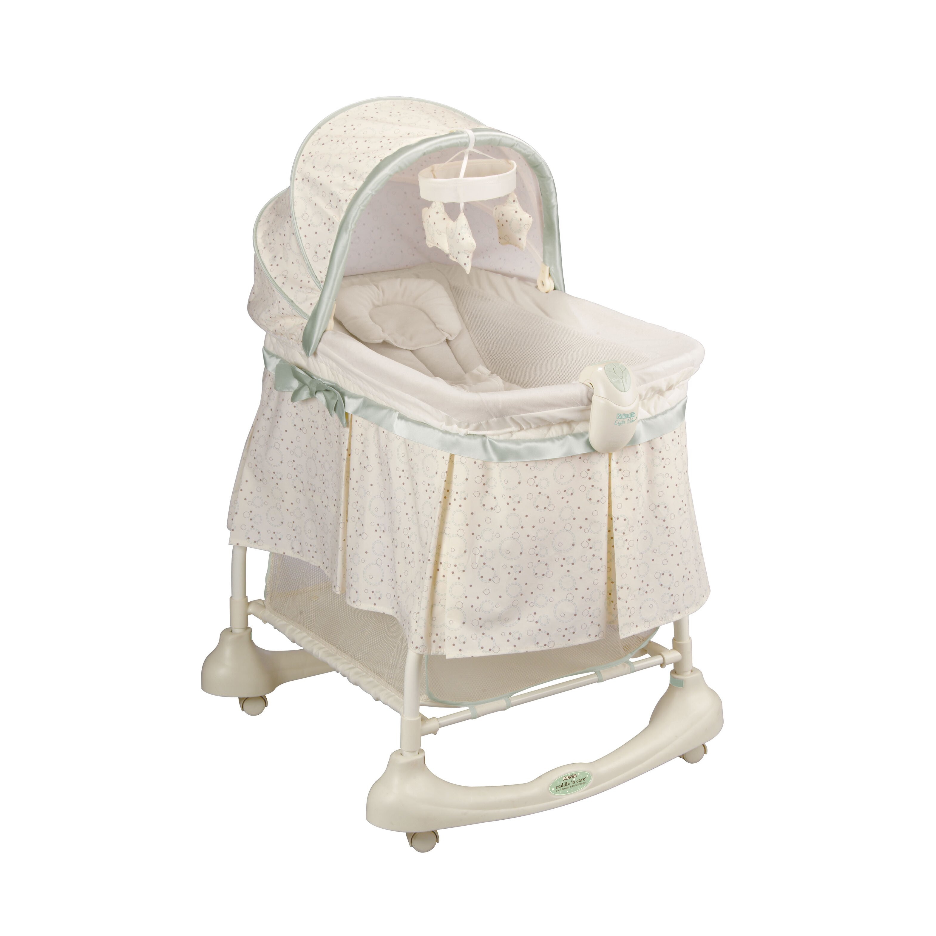 Kolcraft Cuddle N Care 2 In 1 Bassinet And Incline