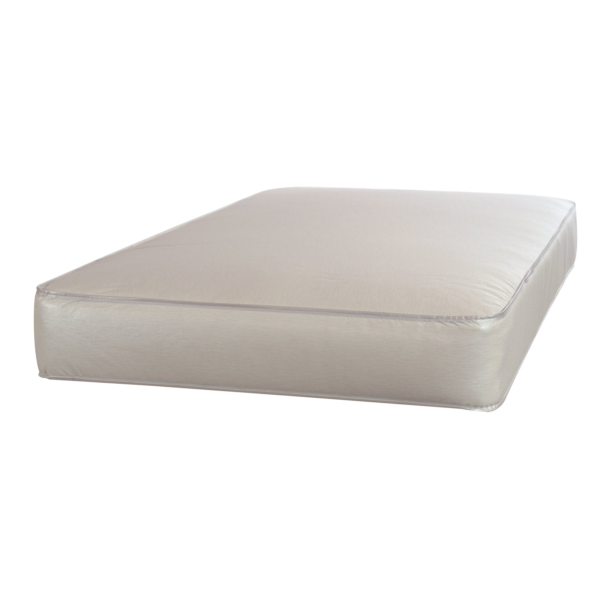 """Sealy Perfect Rest 5 25"""" Crib & Toddler Bed Mattress"""