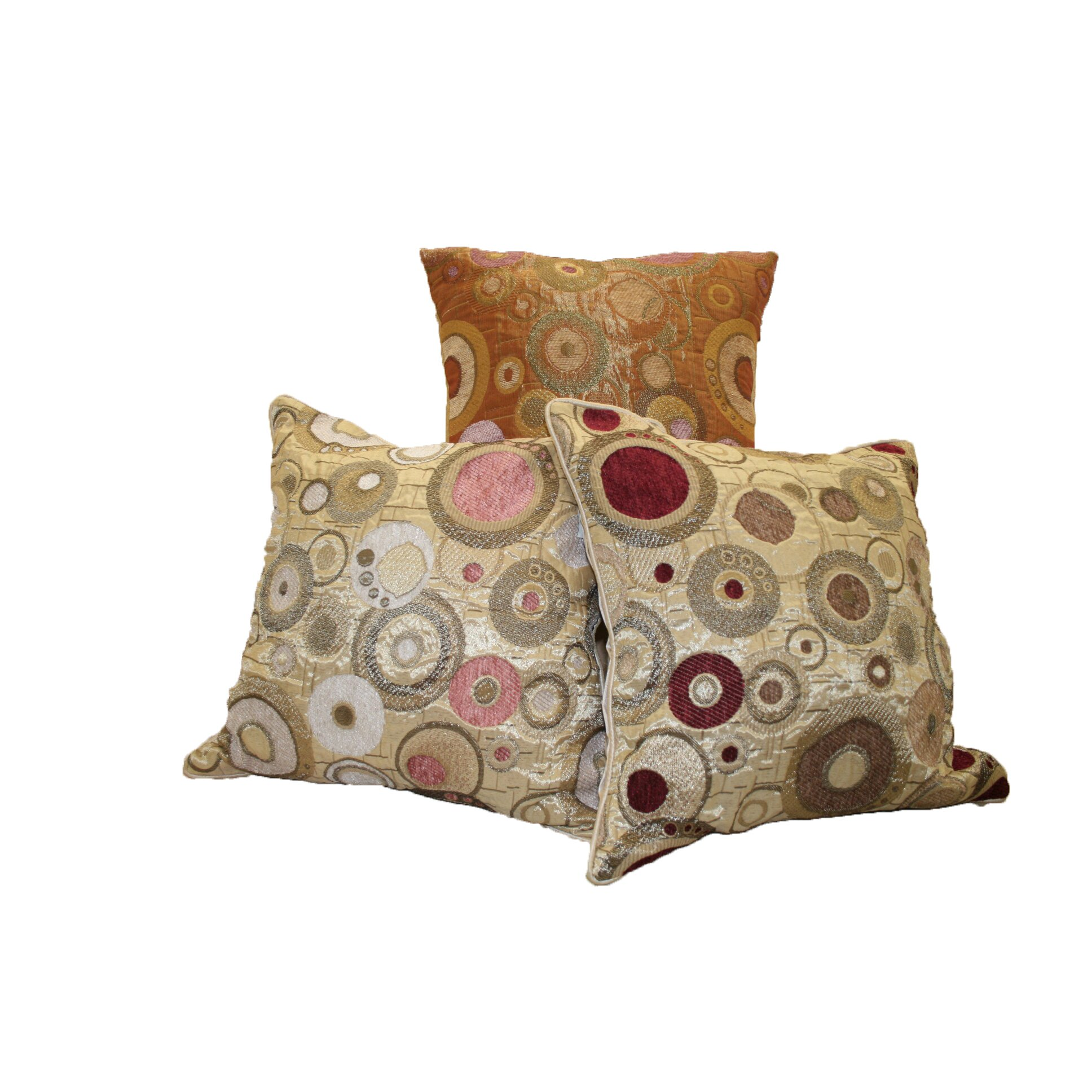 Decorative Linen Pillows : Violet Linen Chenille Candy Decorative Throw Pillow & Reviews Wayfair