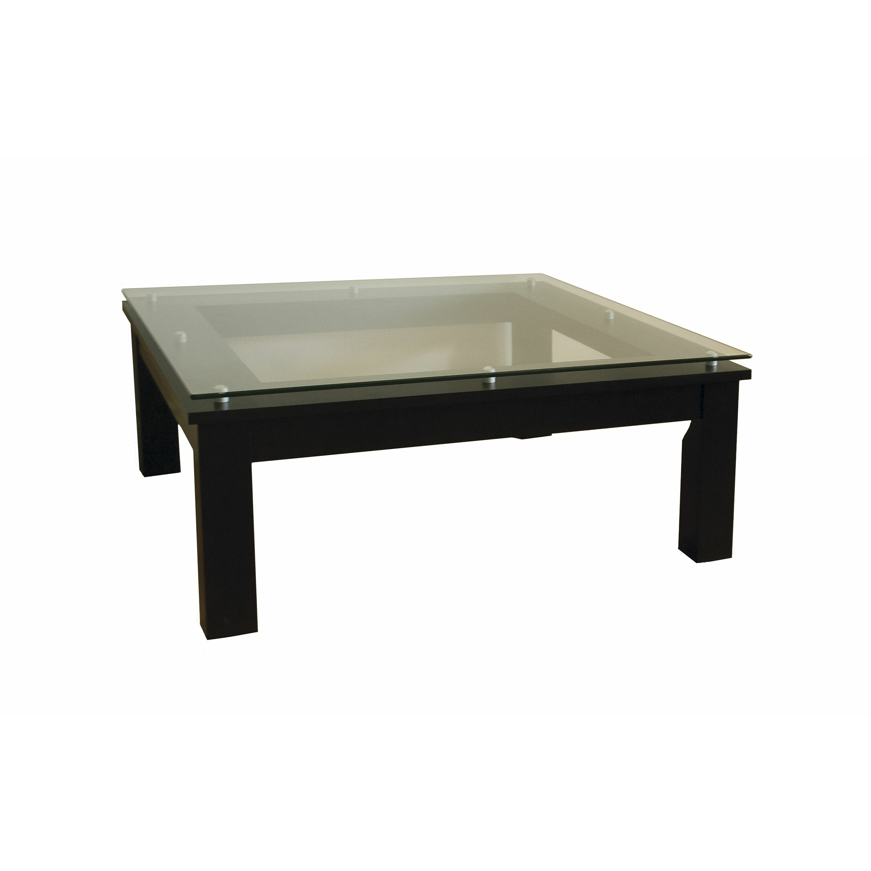 Plateau sl series coffee table reviews wayfair for Wayfair glass top coffee table