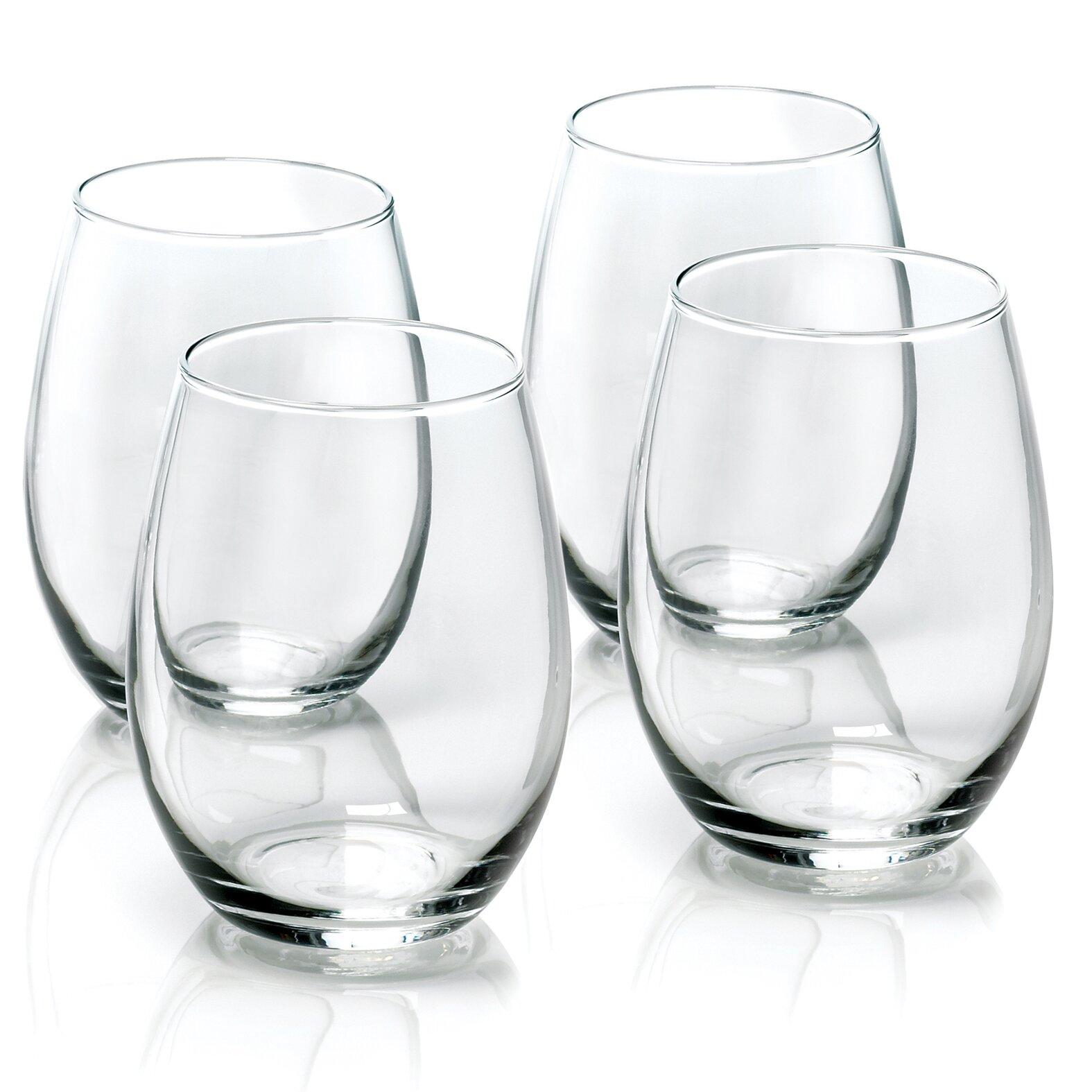 Anchor Hocking Stemless Wine Glasses Reviews Wayfair
