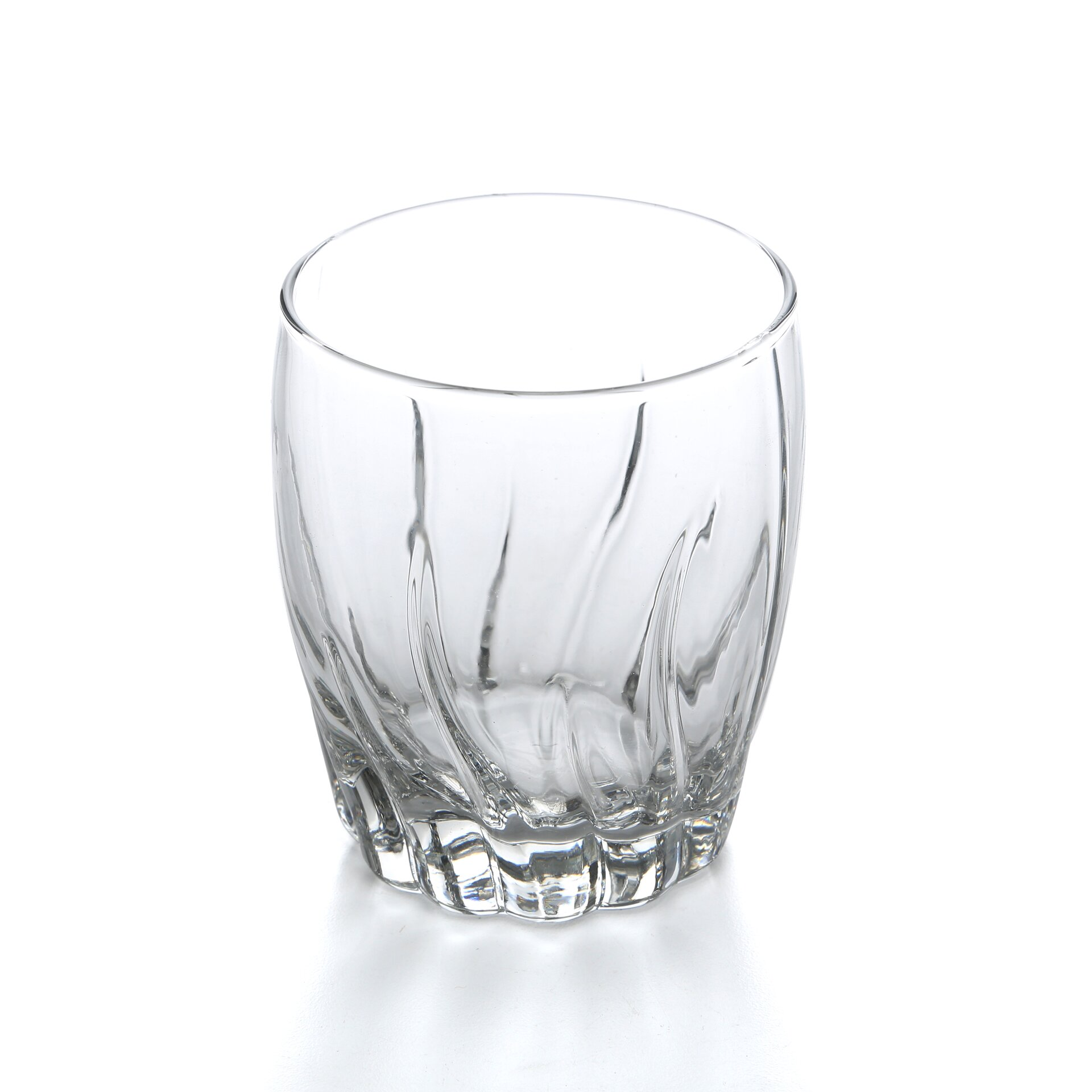 anchor hocking starfire crystal double rocks 12 oz old fashioned glass reviews wayfair. Black Bedroom Furniture Sets. Home Design Ideas