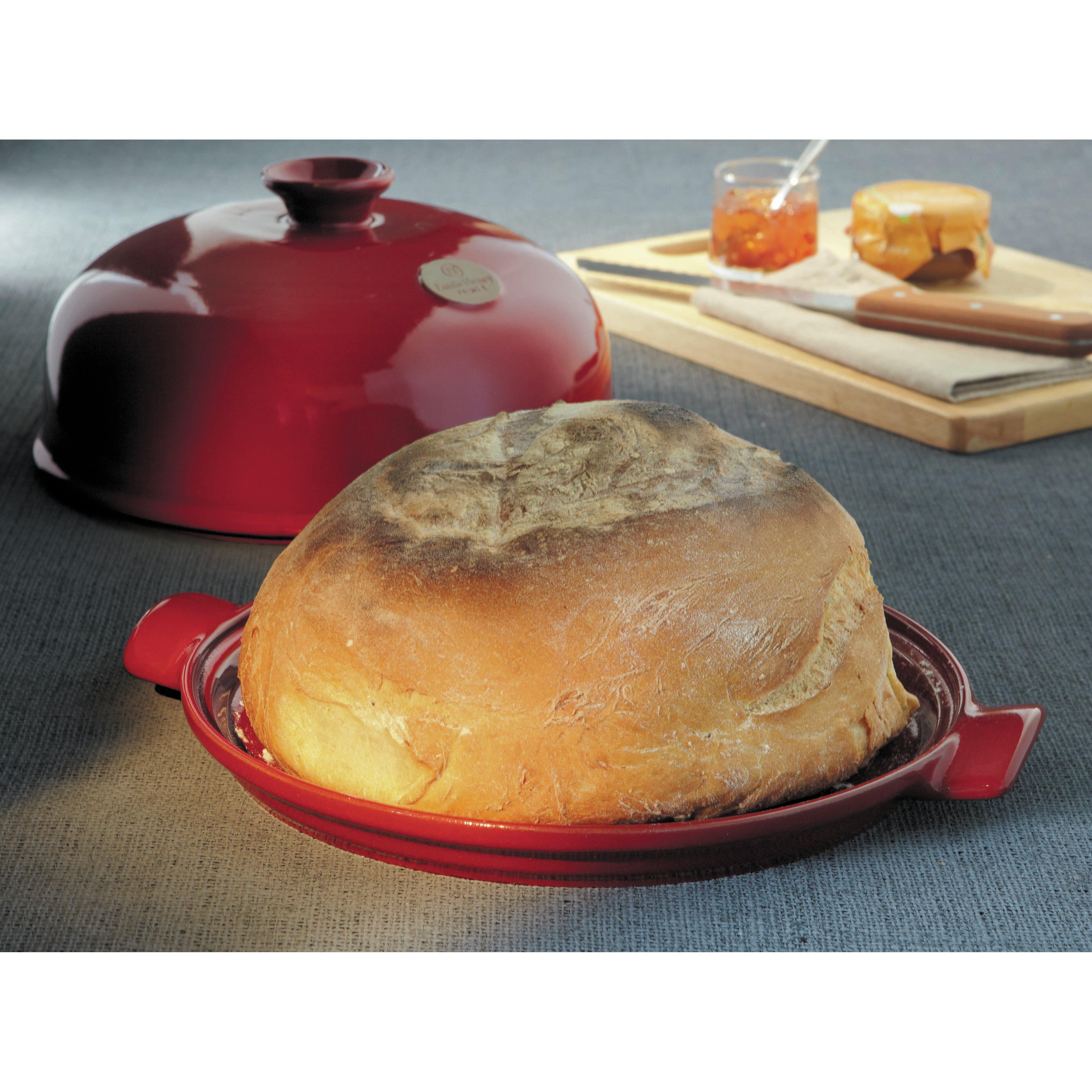 emile henry bread cloche reviews wayfair. Black Bedroom Furniture Sets. Home Design Ideas