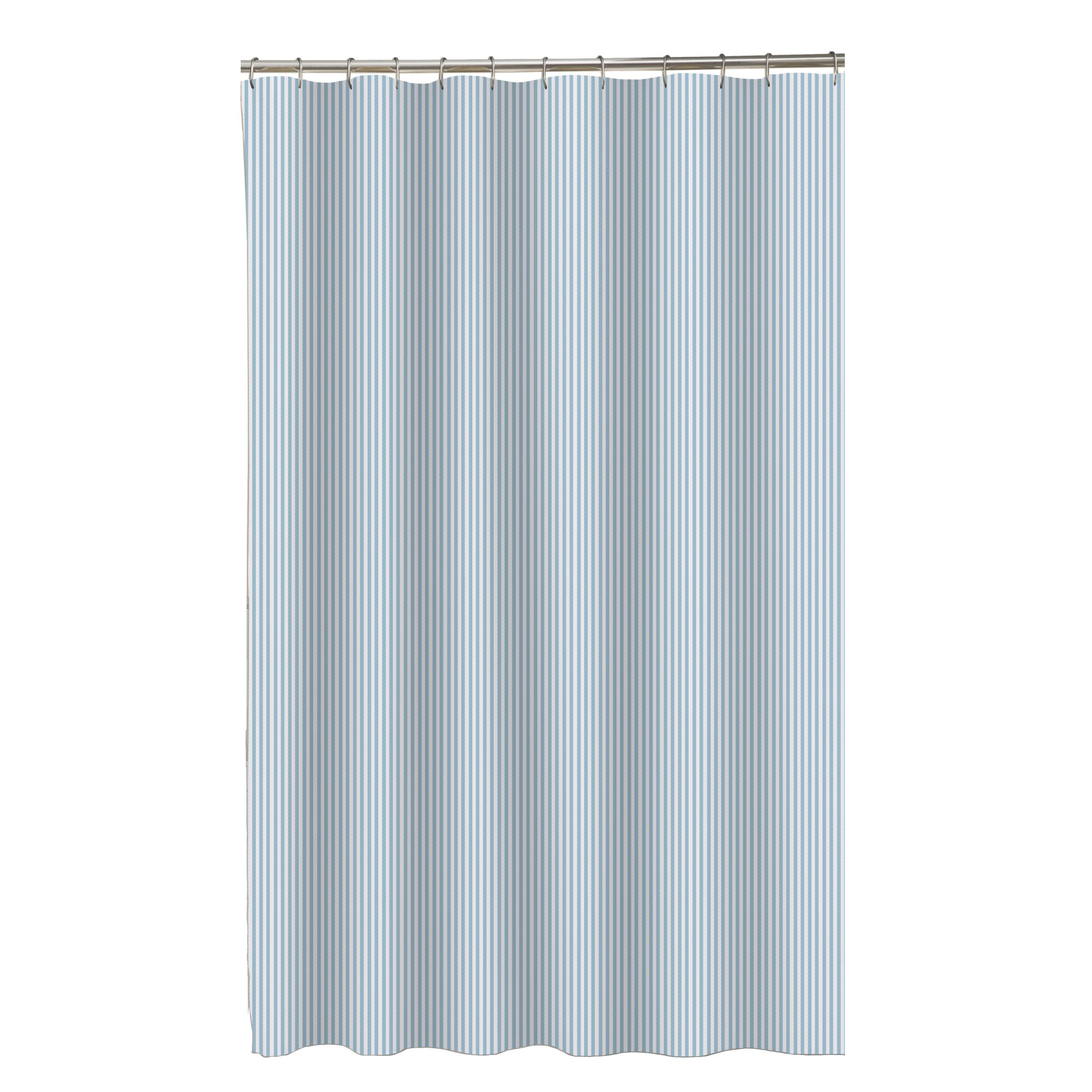 Maytex Seersucker Stripe Shower Curtain Amp Reviews Wayfair Ca
