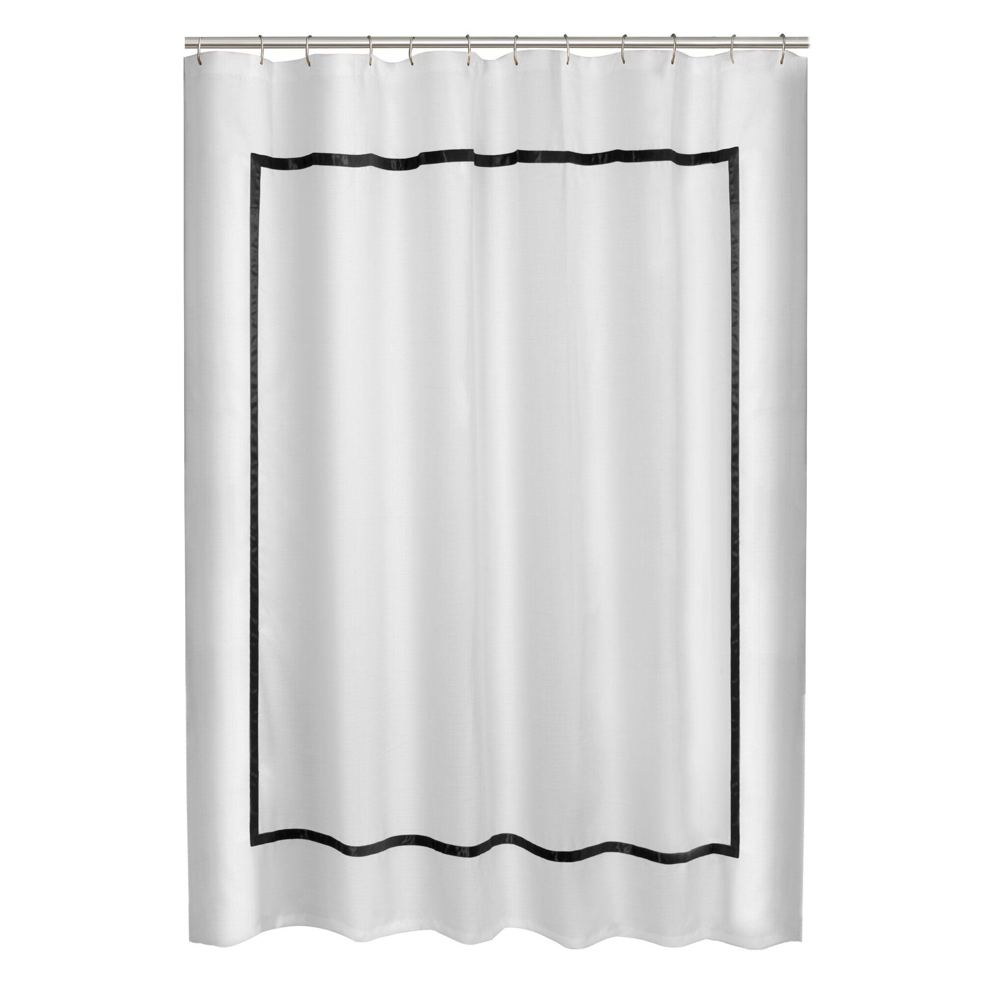 maytex hotel border shower curtain reviews