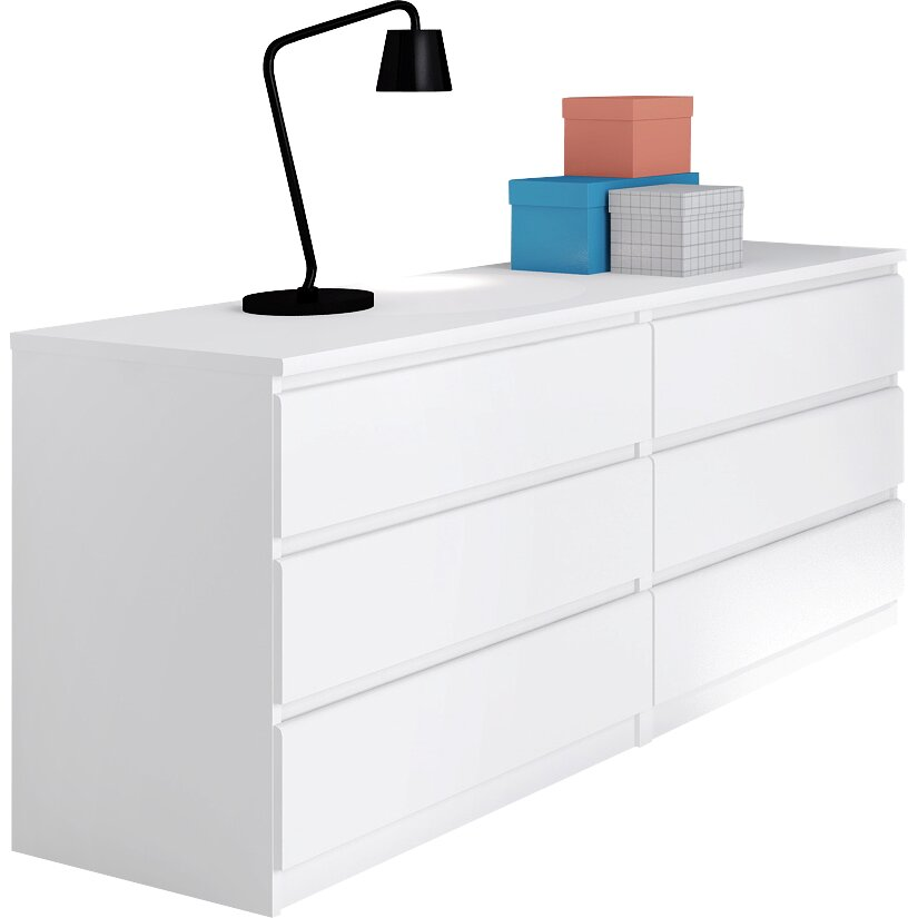 Tvilum naia 6 drawer sideboard reviews wayfair uk - Tvilum sideboard ...