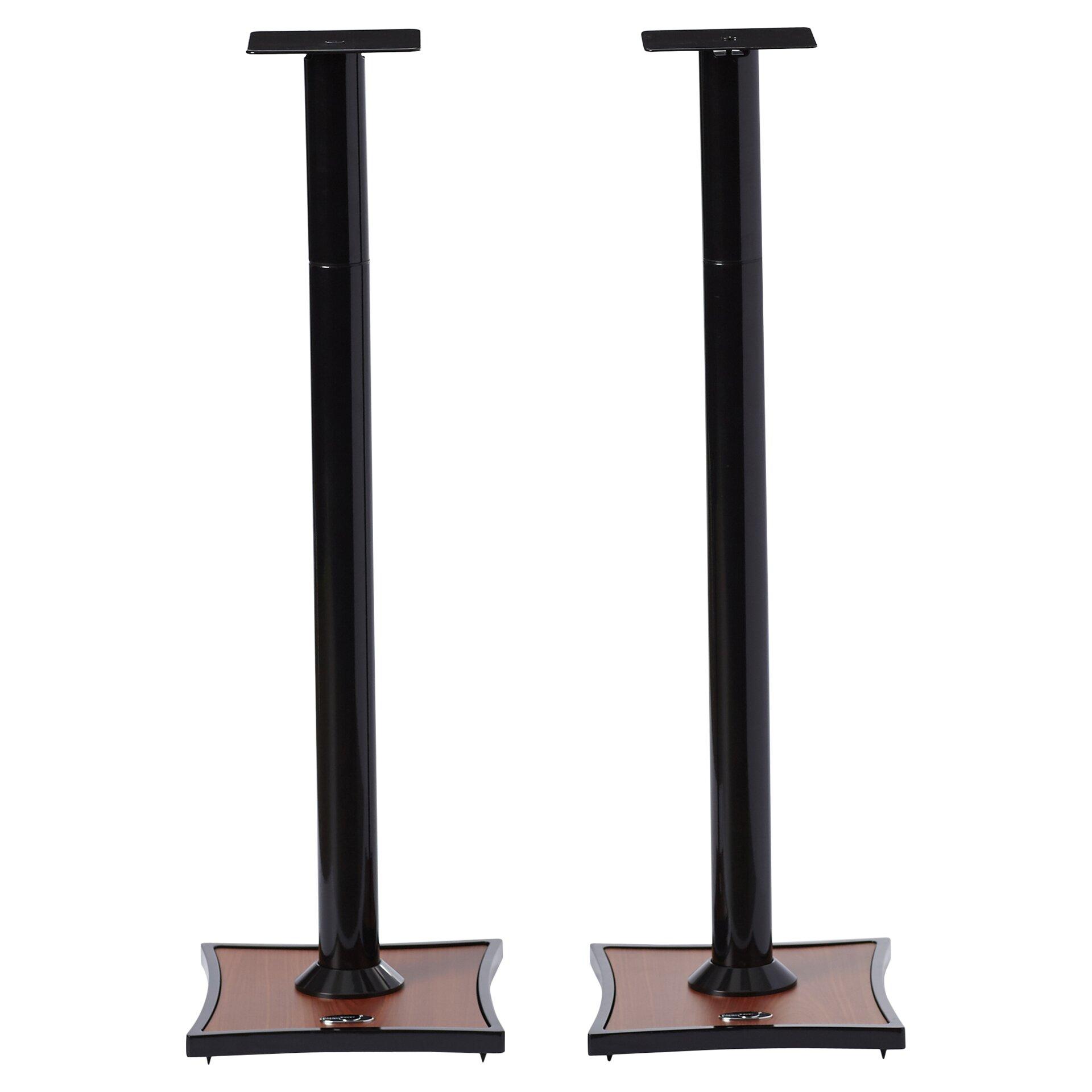 Omnimount gemini series adjustable bookshelf speaker stand for Stand 2 b