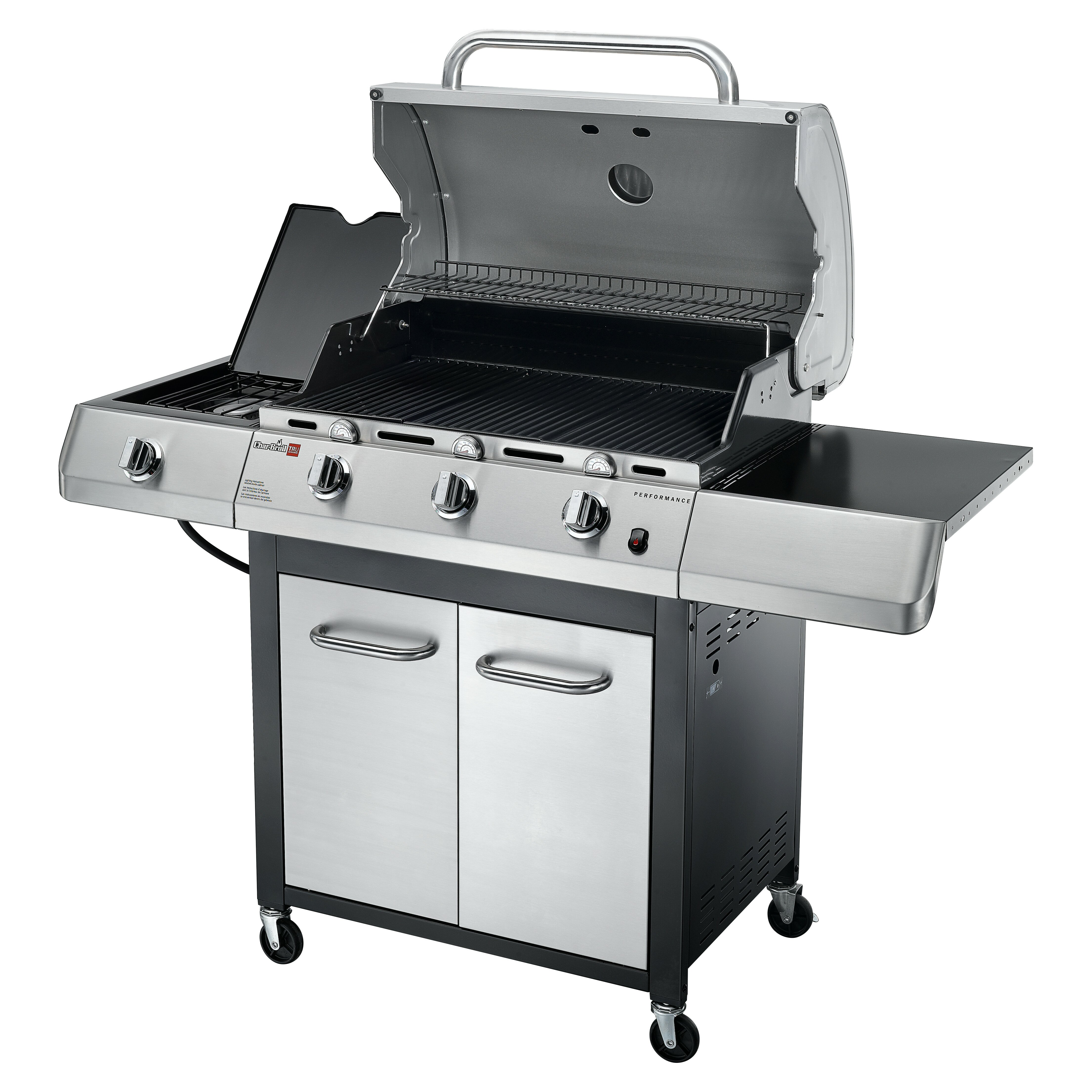 CharBroil TRU Infrared Performance 3 Burner Gas Grill with ...