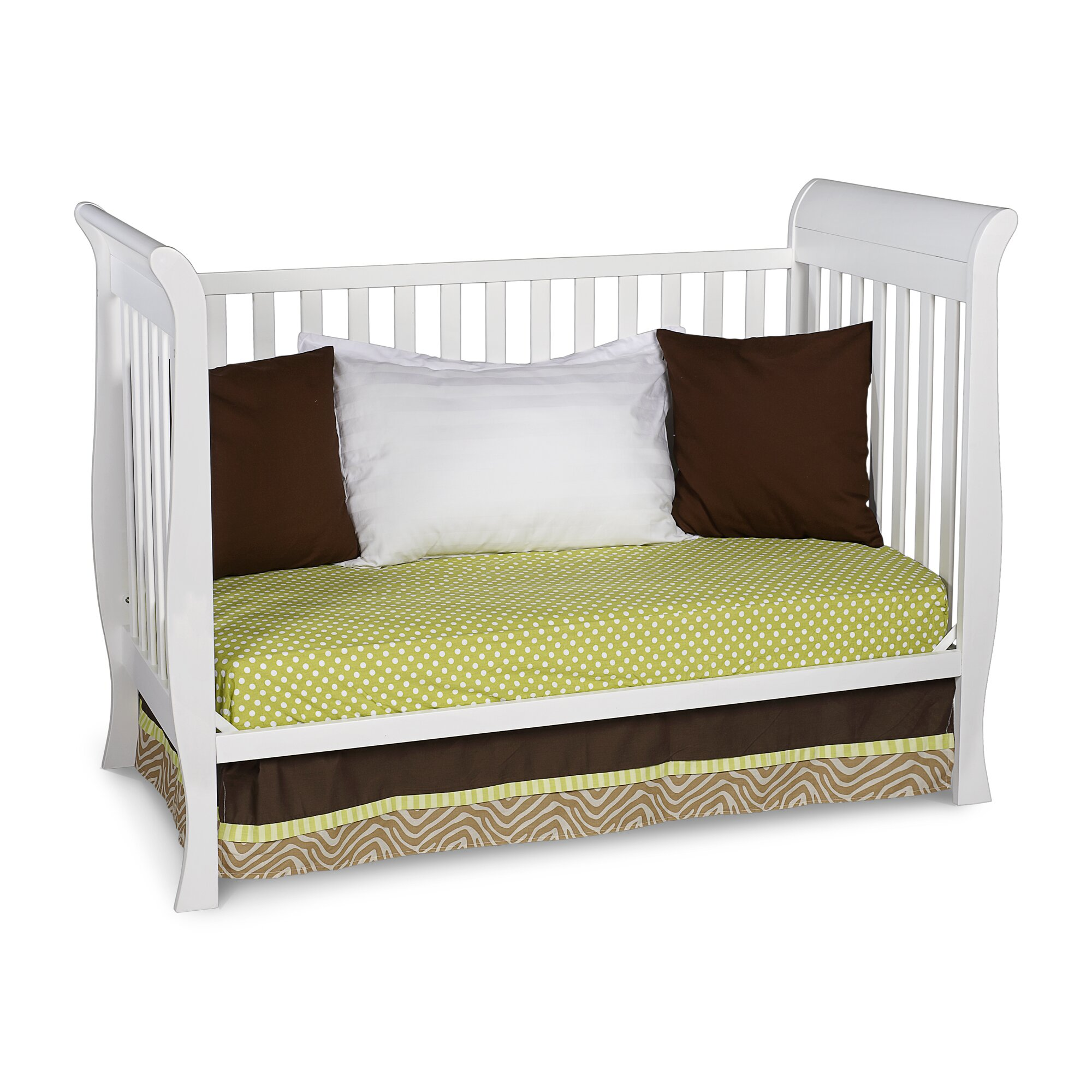 Delta Children Charleston Glenwood 3 In 1 Convertible Crib Amp Reviews Wayfair