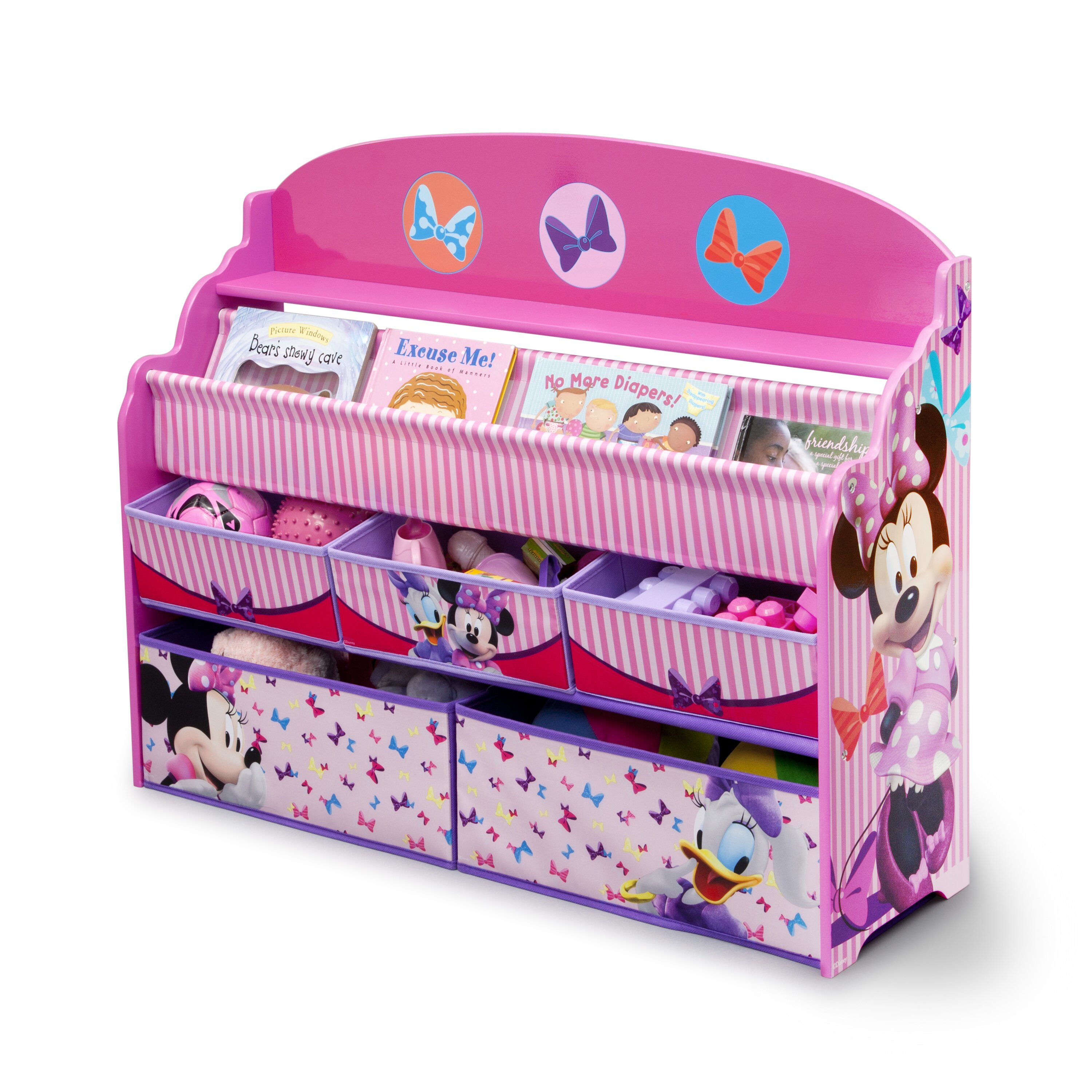 delta children deluxe book and toy organizer reviews. Black Bedroom Furniture Sets. Home Design Ideas