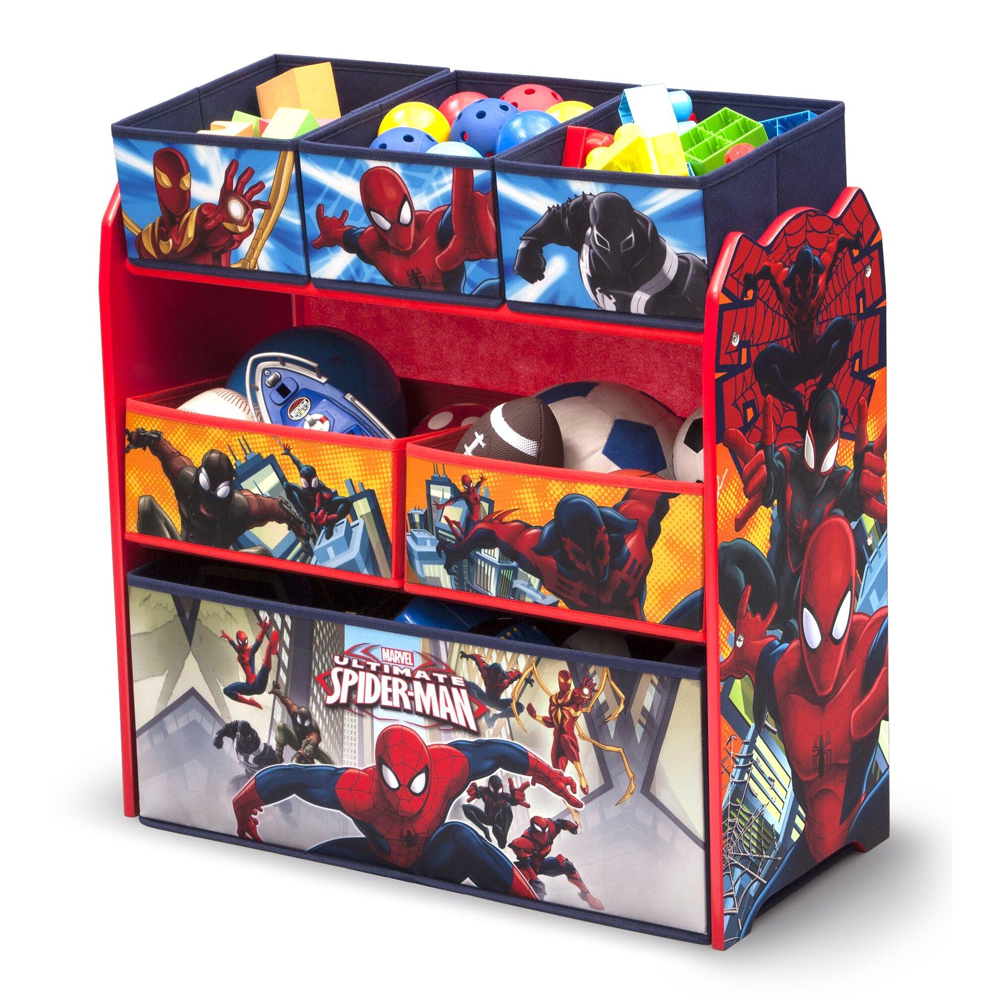 Delta Children Spider Man Toy Organizer & Reviews