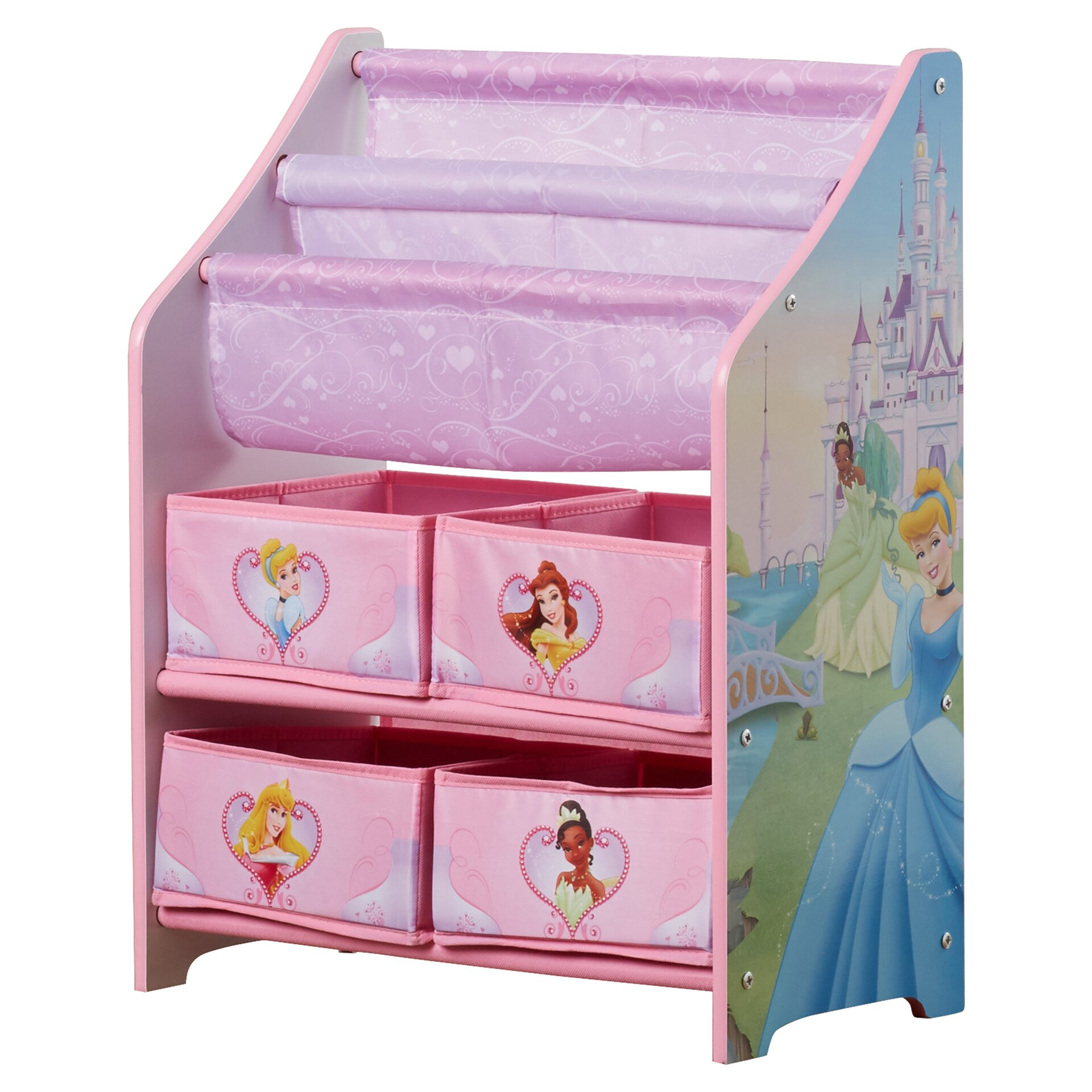 Delta Children Disney Princess Book amp Toy Organizer  : Delta Children Disney Princess Book and Toy Organizer TB84655PS999 from www.wayfair.com size 1920 x 1920 jpeg 483kB