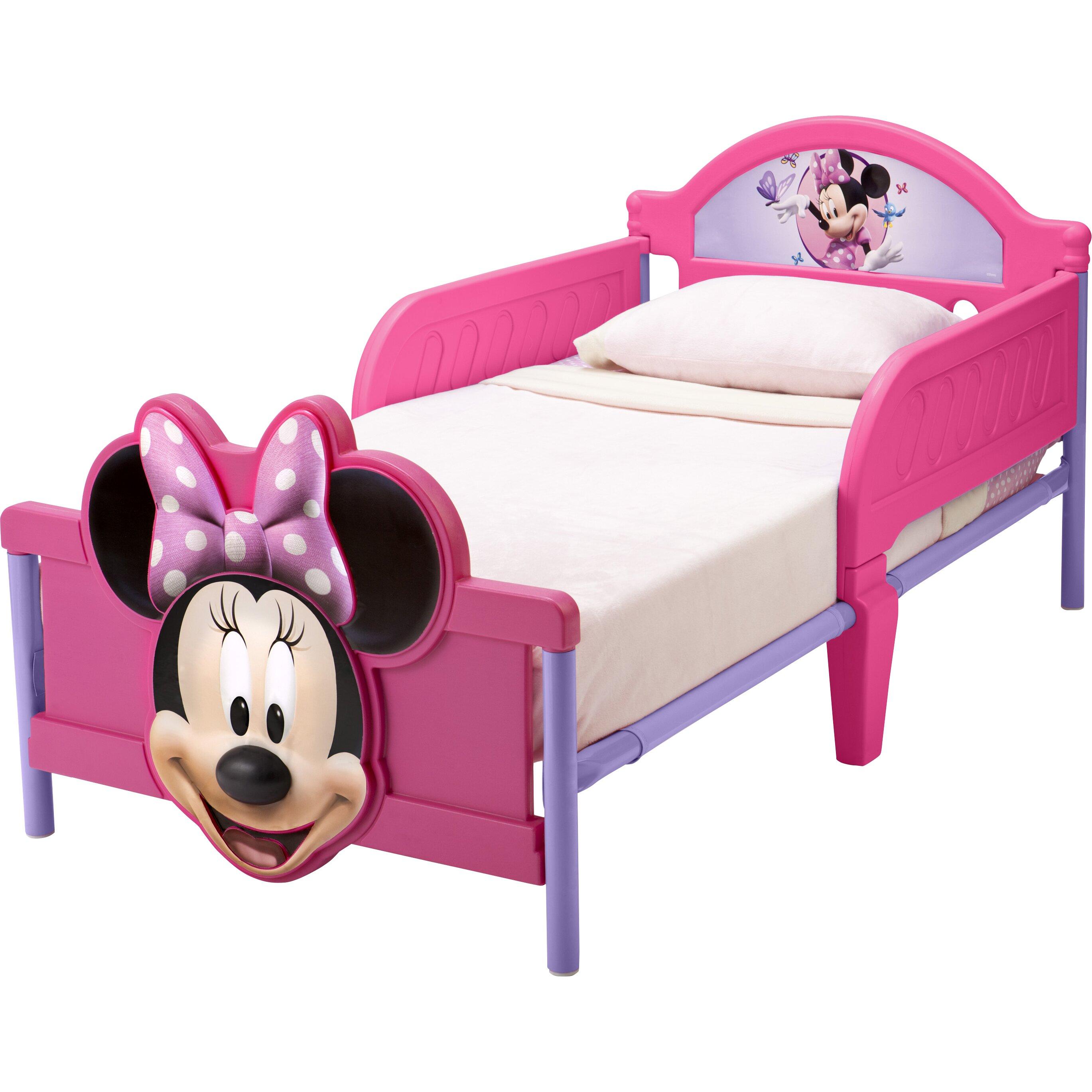 delta children disney minnie mouse 3d convertible toddler