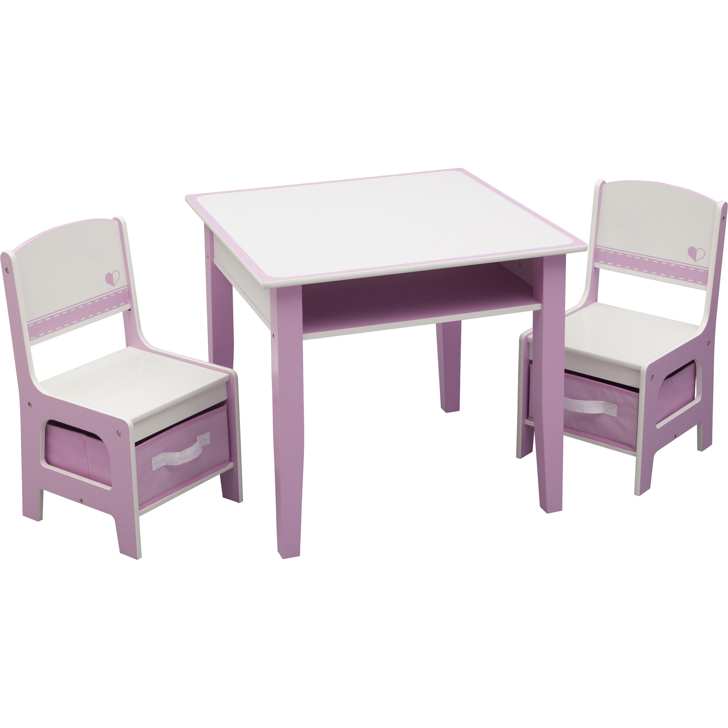 Delta Children Jack And Jill Kids 3 Piece Table And Chair