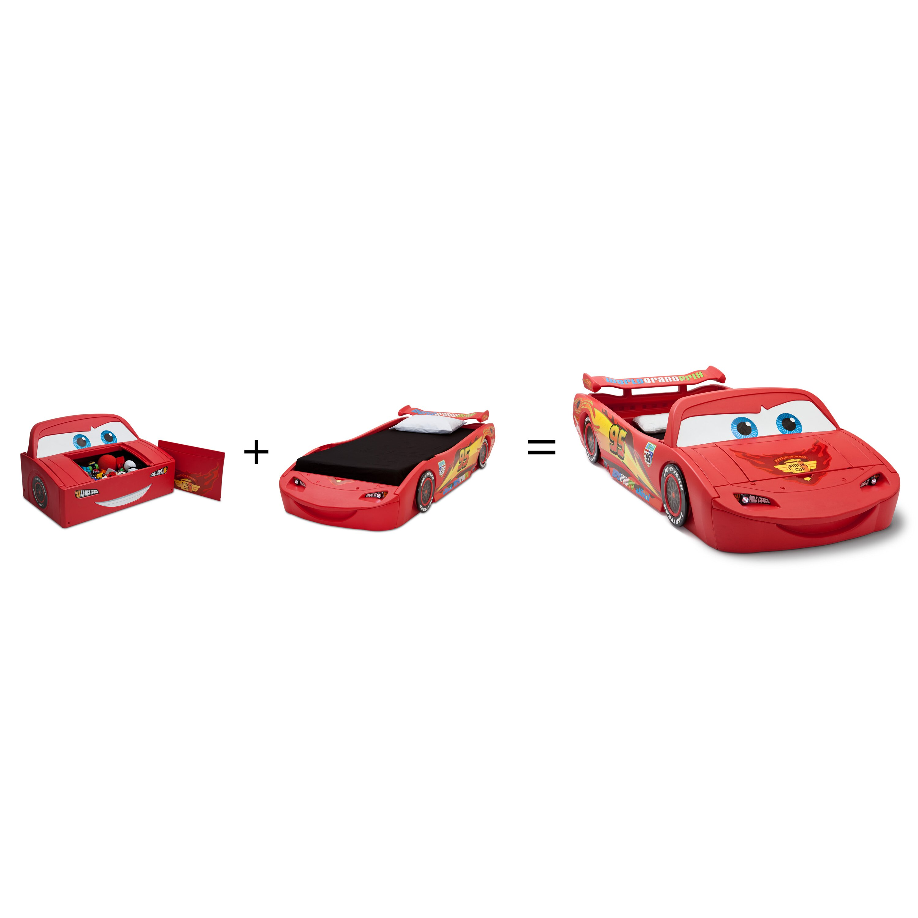 Disney Pixar Cars 2 Toddler BedDelta Children Disney