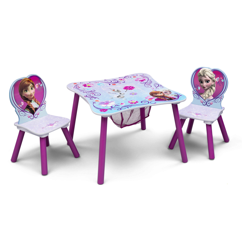 Delta Children Disney Frozen Kids 3 Piece Table And Chair Set Reviews