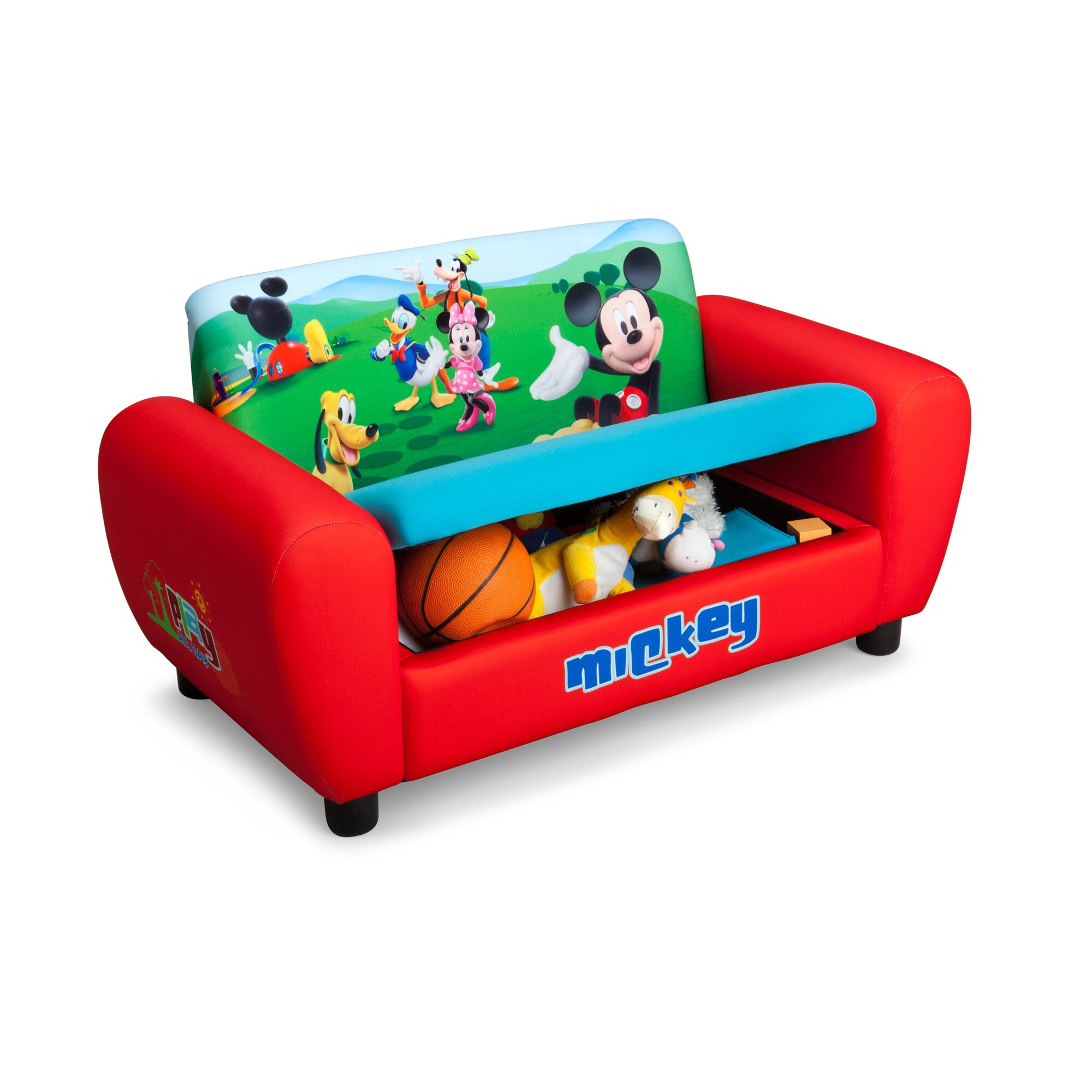 Delta children disney mickey mouse kids sofa wayfair - Sofas cama para ninos ...
