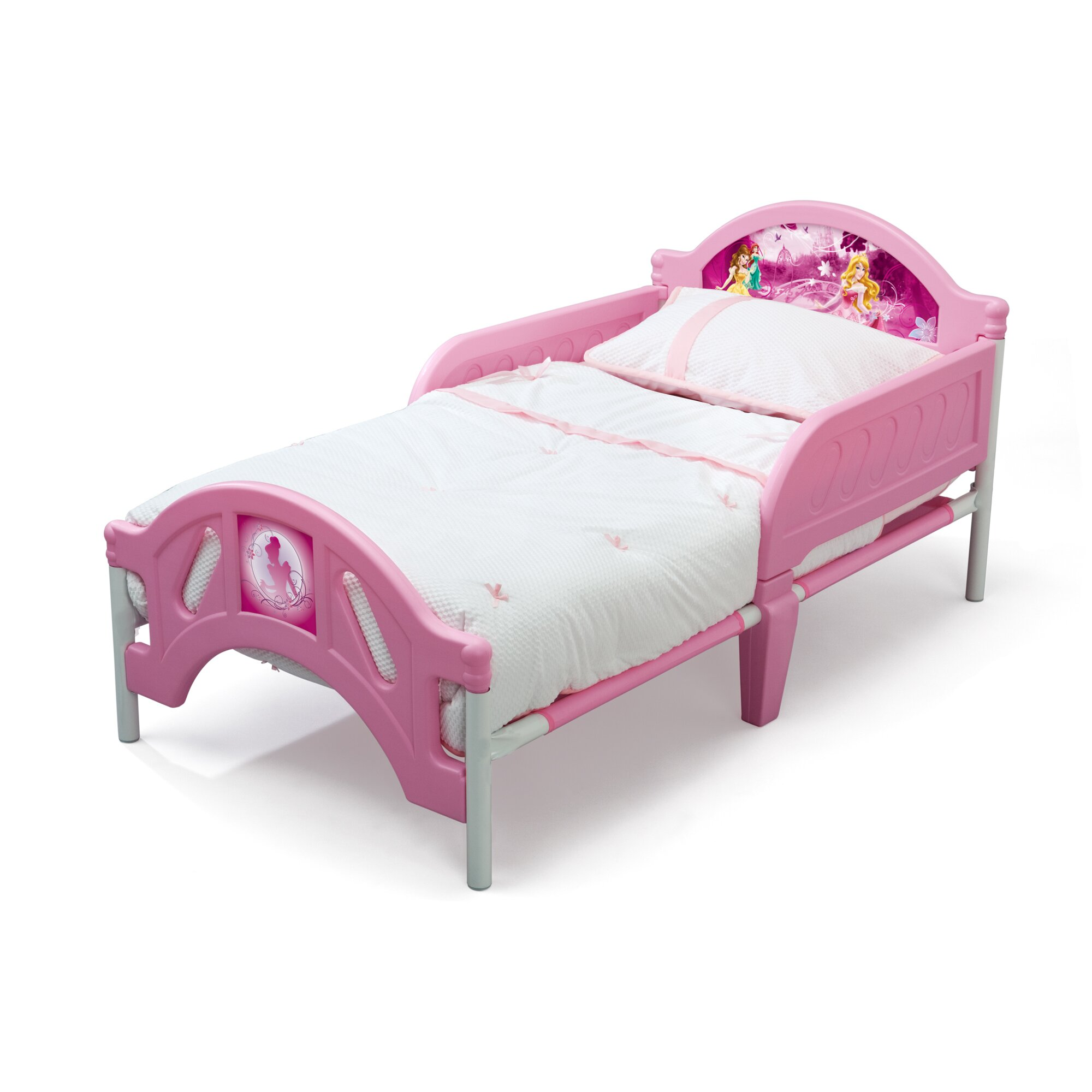princess beds for toddlers delta children disney princess convertible toddler bed 16803