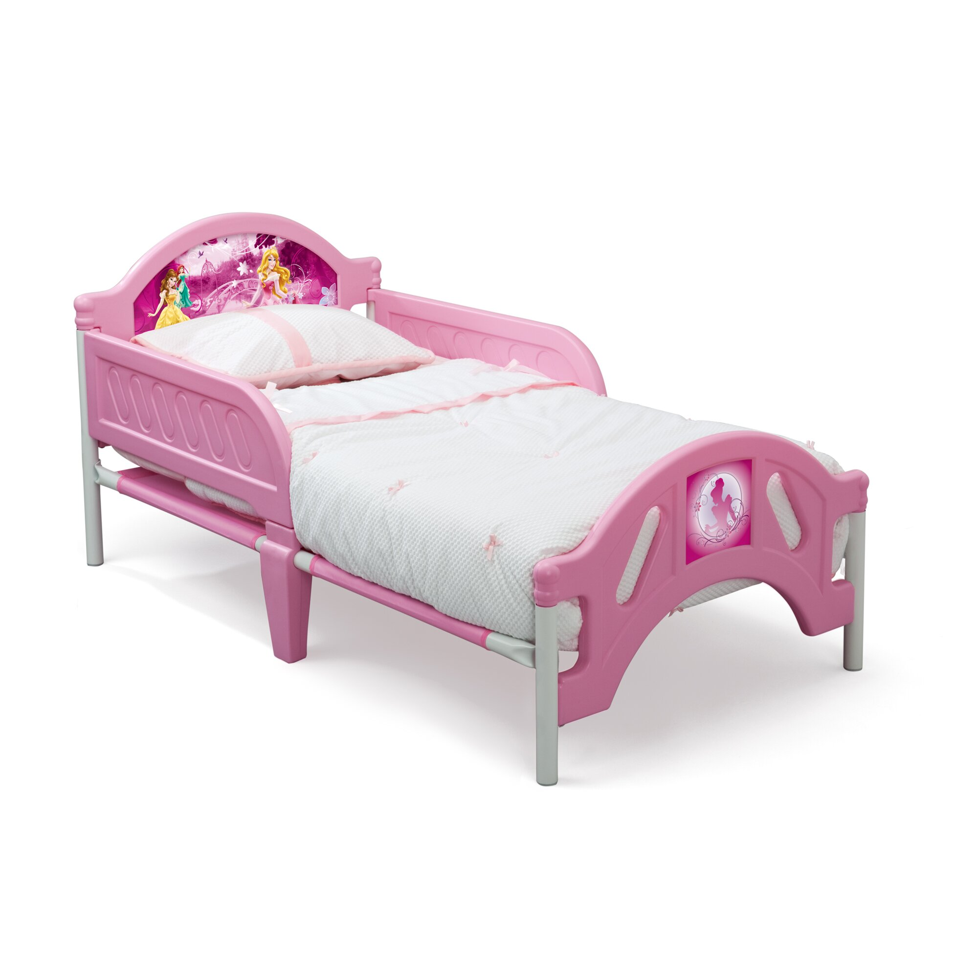 Delta Children Disney Princess Convertible Toddler Bed