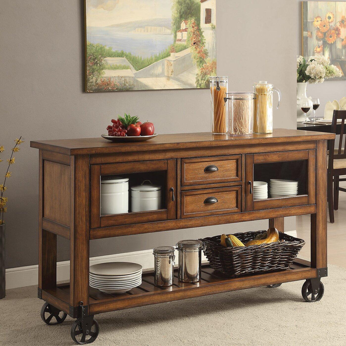 Acme Furniture Kadri Kitchen Cart Wayfair
