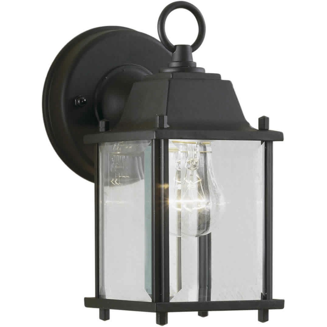 Wayfair External Wall Lights : Forte Lighting 1 Light Outdoor Wall Lantern & Reviews Wayfair