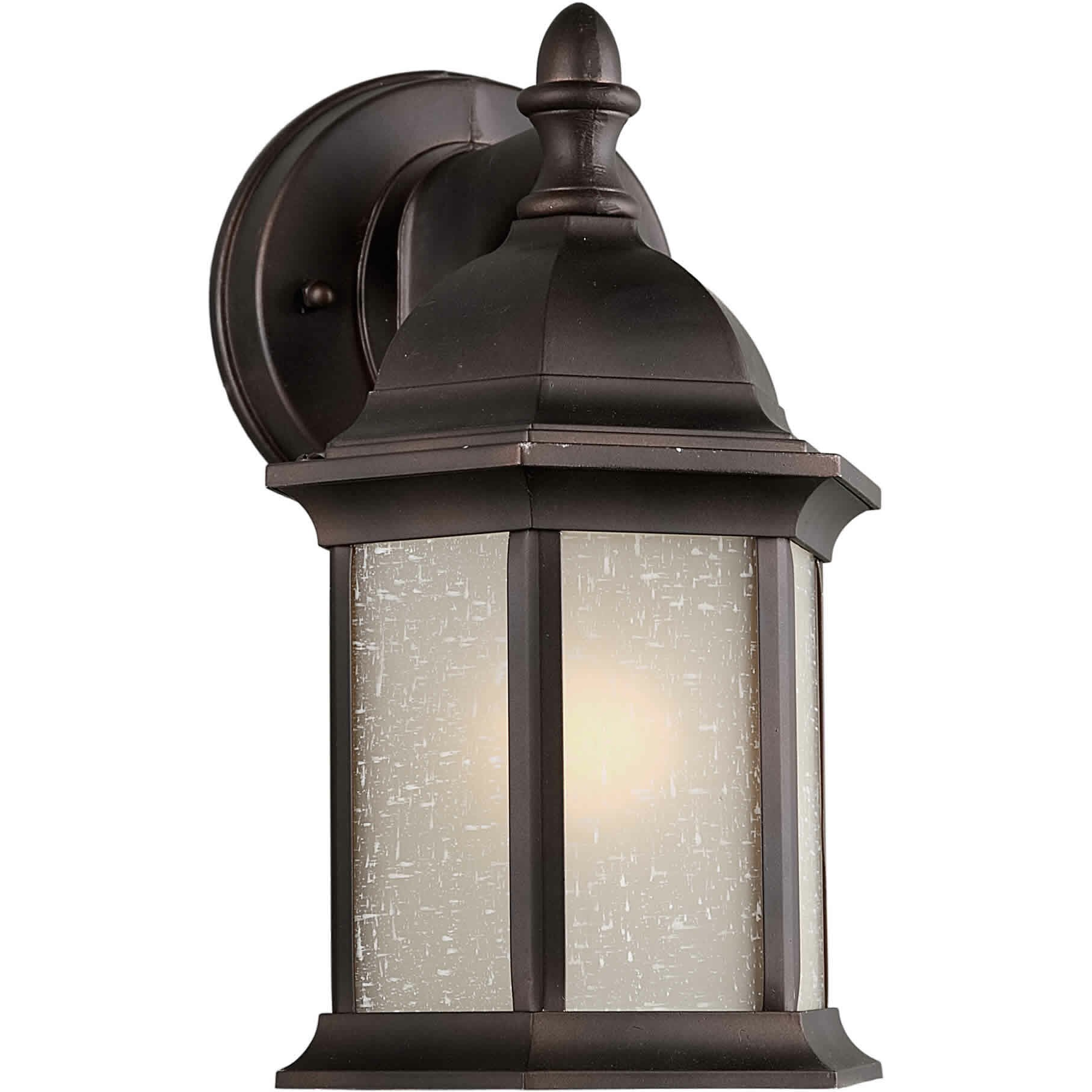 Lantern Wall Light Outdoor : Forte Lighting 1 Light Outdoor Wall Lantern & Reviews Wayfair