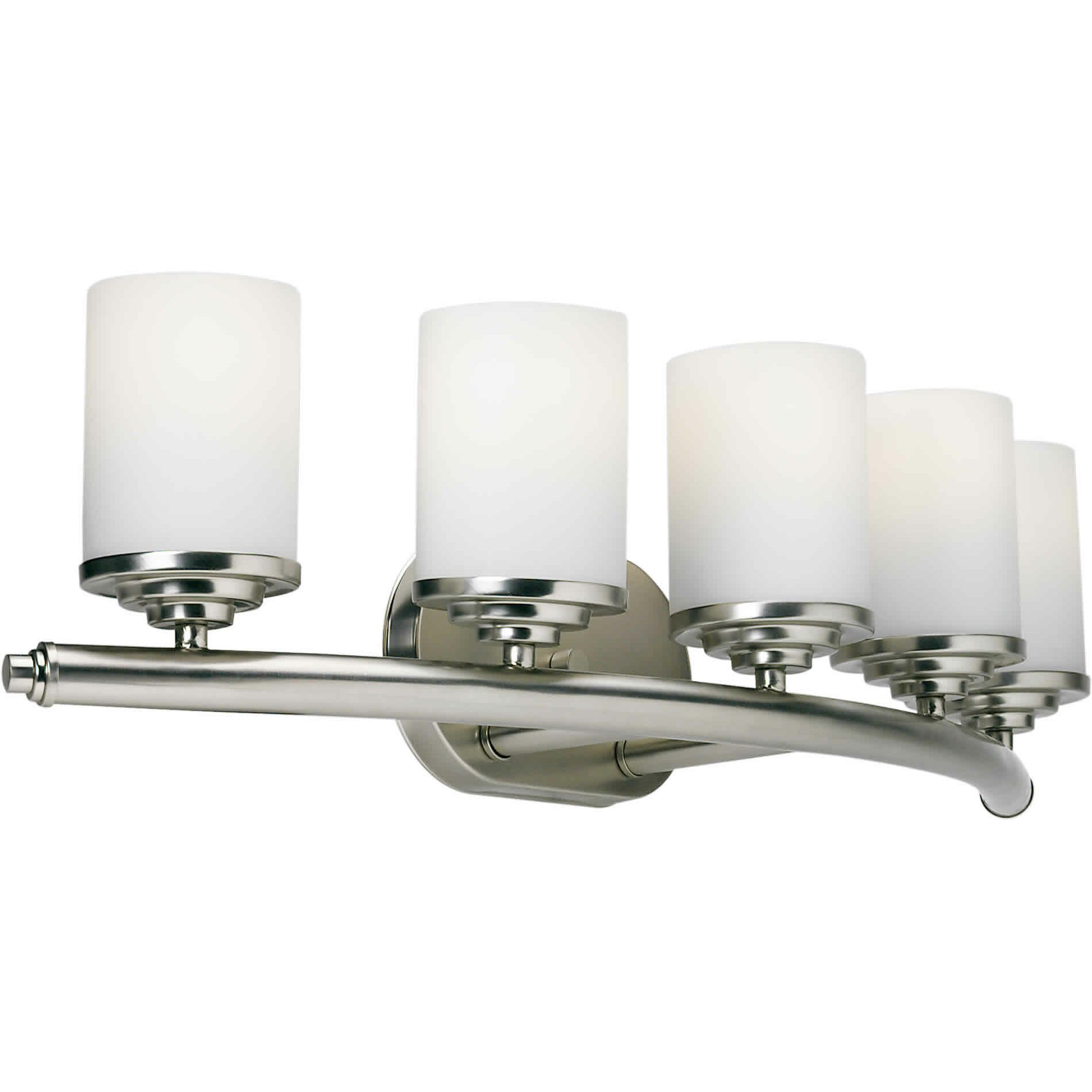 Forte Lighting 5 Light Vanity Light & Reviews Wayfair