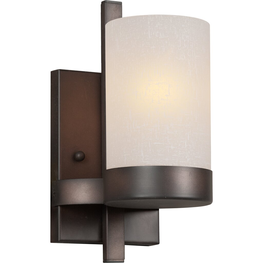 Wall Light With Bracket : Forte Lighting 1 Light Bracket Wall Sconce & Reviews Wayfair