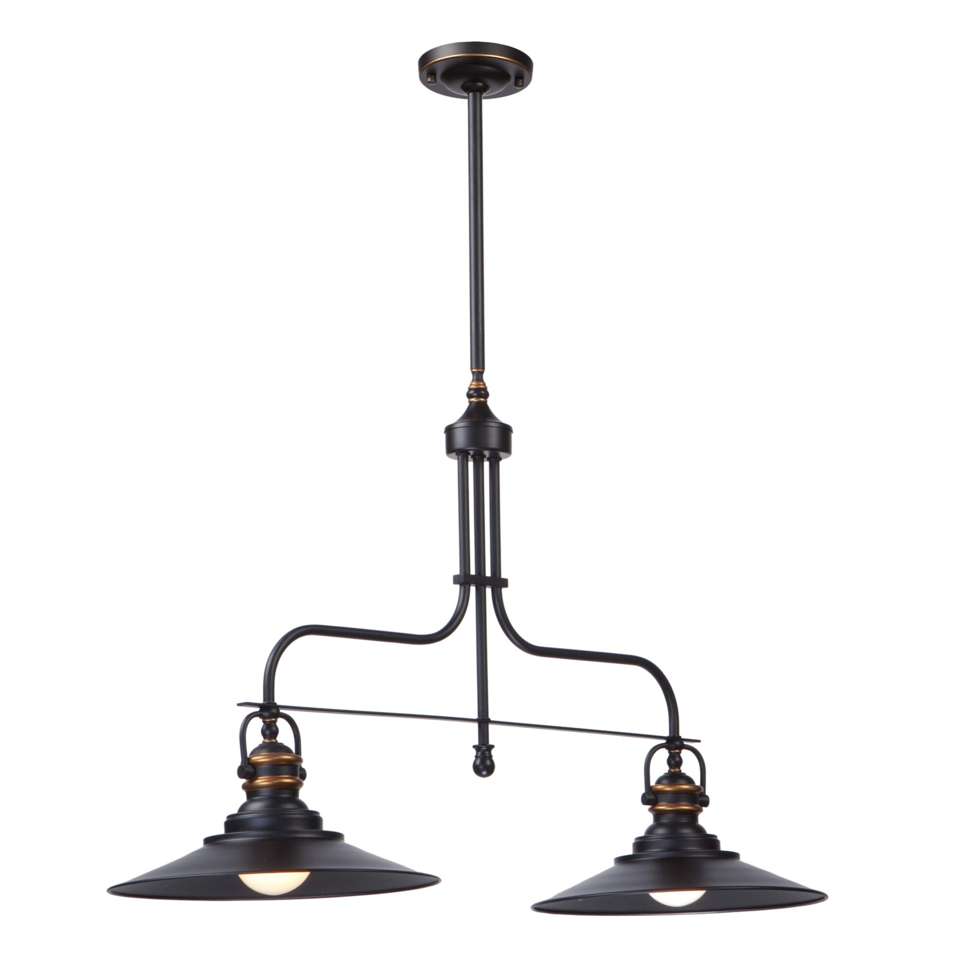 Artcraft Lighting Heath 2 Light Kitchen Island Pendant