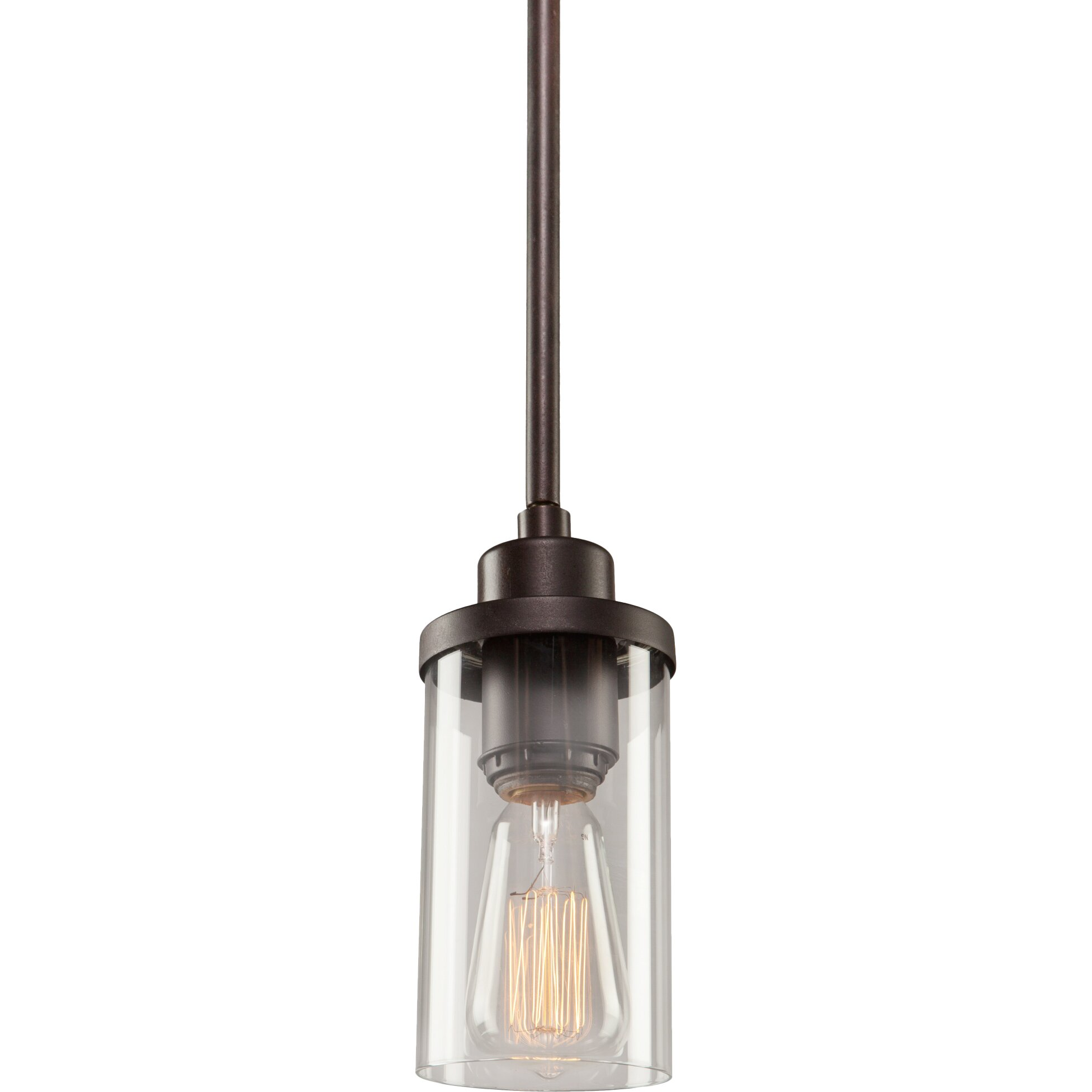 artcraft lighting melno park 1 light mini pendant