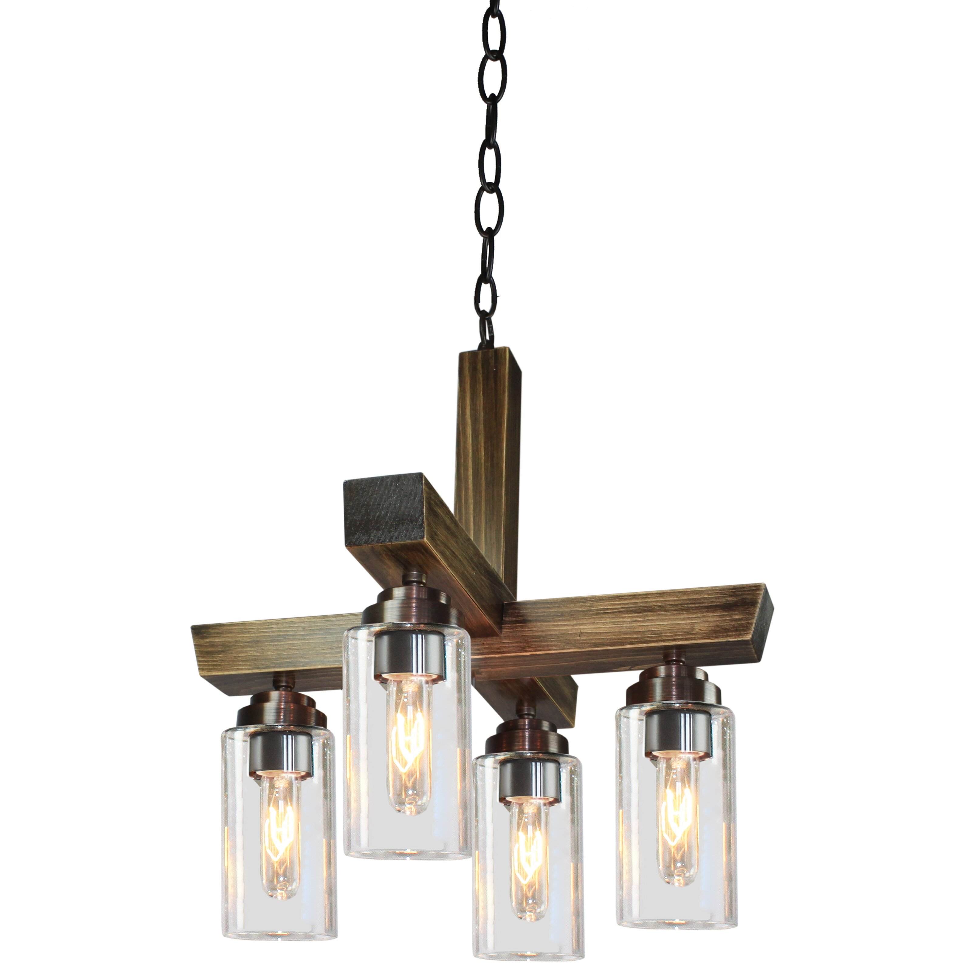 Kitchen Island Pendant Lighting: Artcraft Lighting Home Glow 4 Light Kitchen Island Pendant