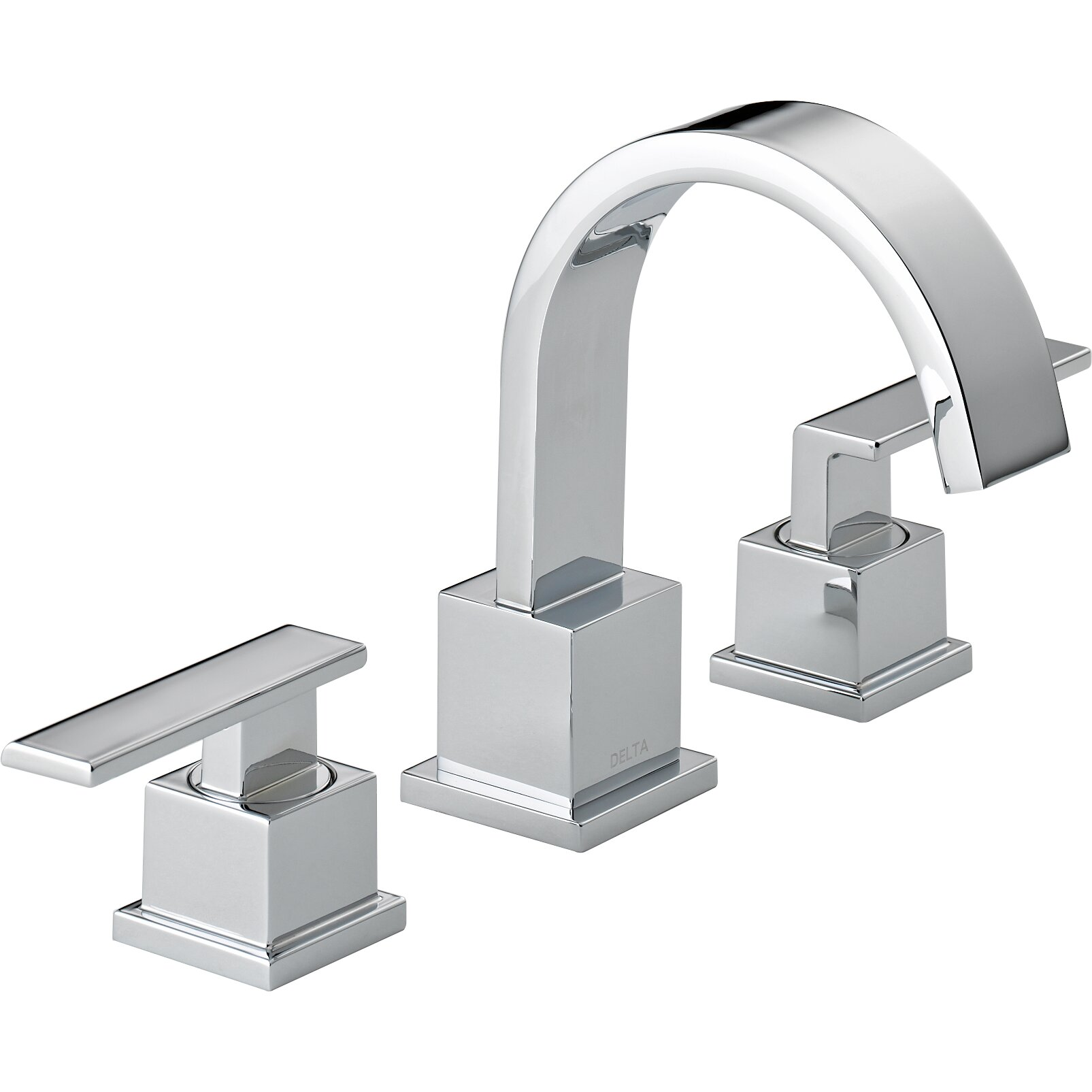 Delta Vero Two Handle Widespread Bathroom Faucet & Reviews Wayfair