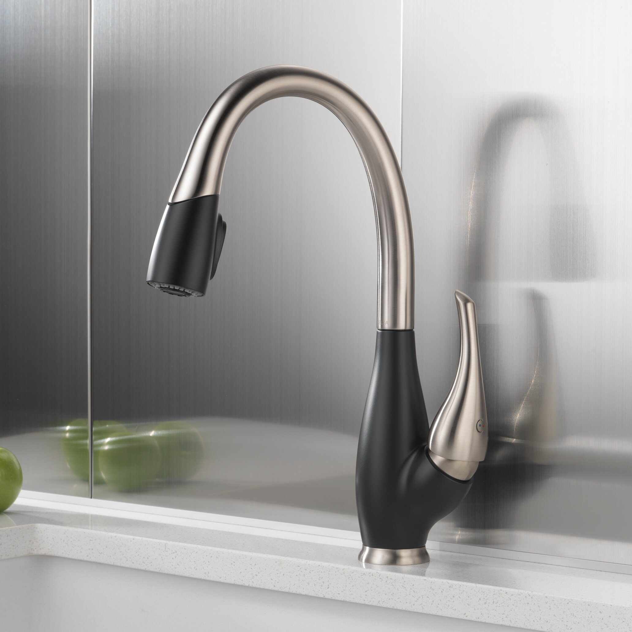 delta fuse single handle standard kitchen faucet reviews