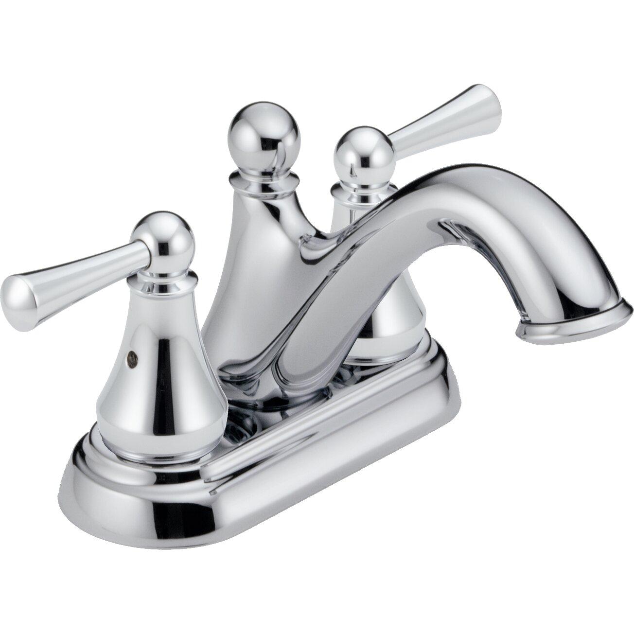 delta haywood double handle centerset bathroom faucet reviews