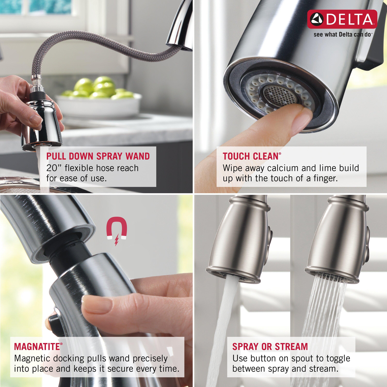 delta trinsic bathroom faucet - kraisee