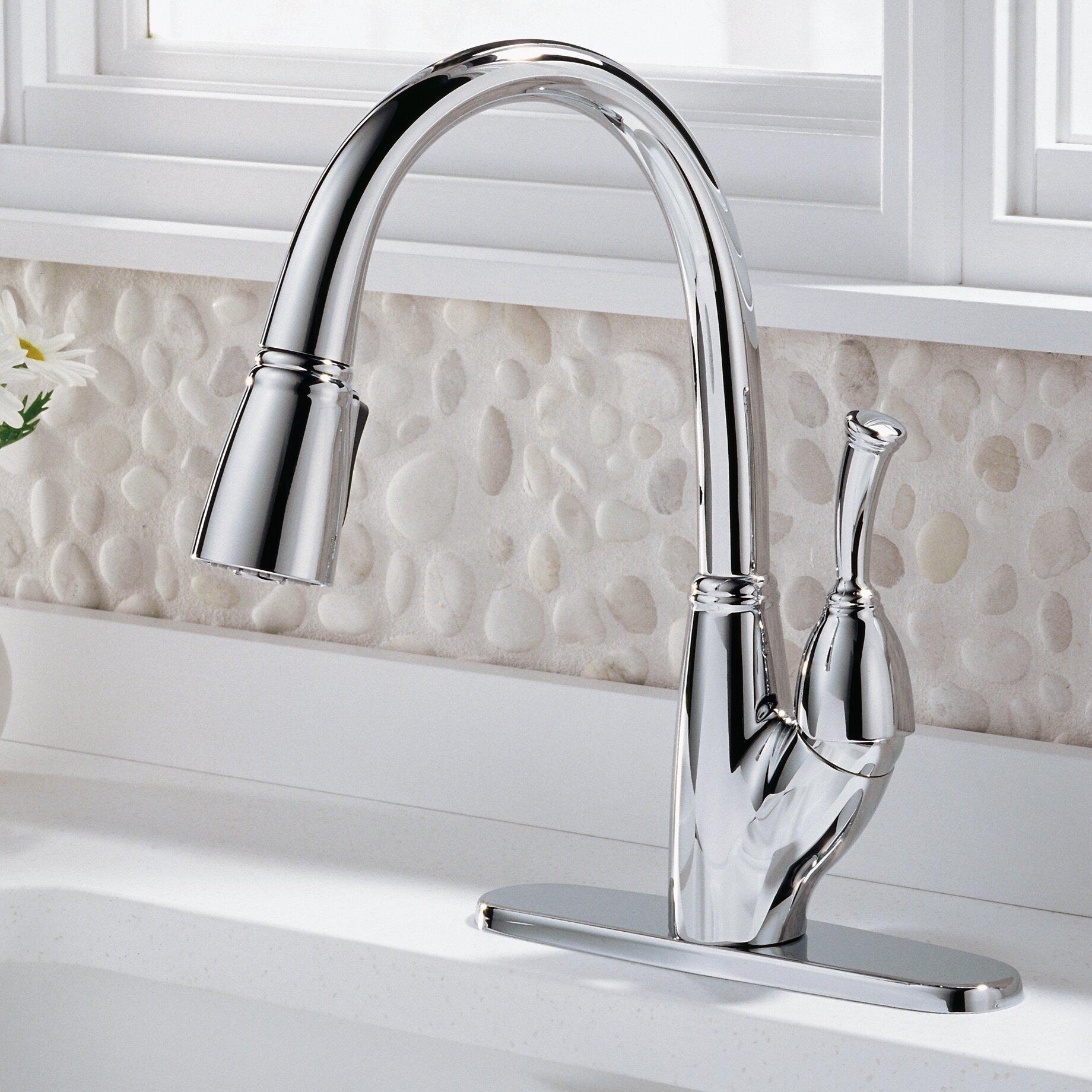 delta allora single handle deck mounted kitchen faucet delta allora touchless single handle deck mounted bar