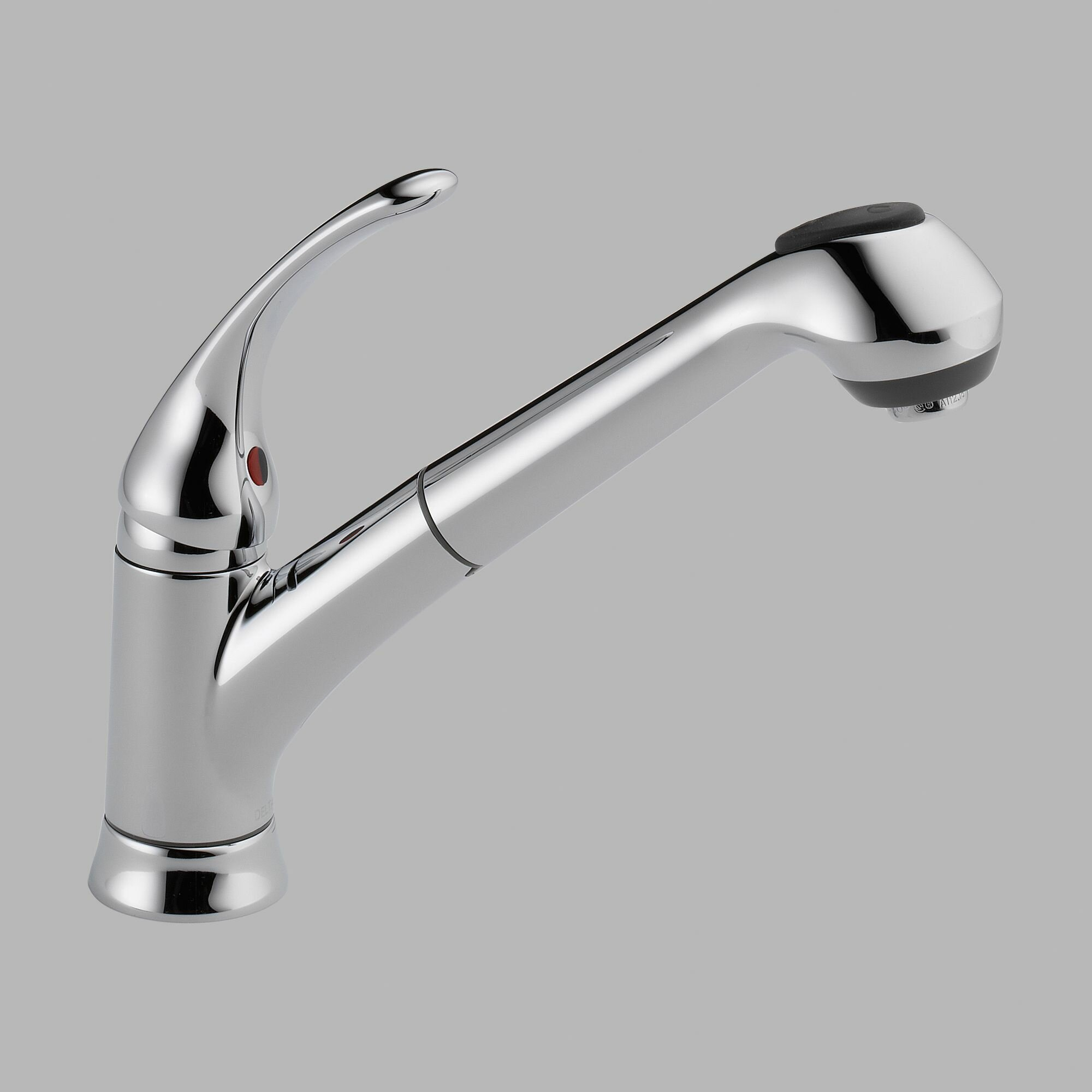 delta single handle kitchen faucet parts delta foundations single handle deck mounted kitchen 26600