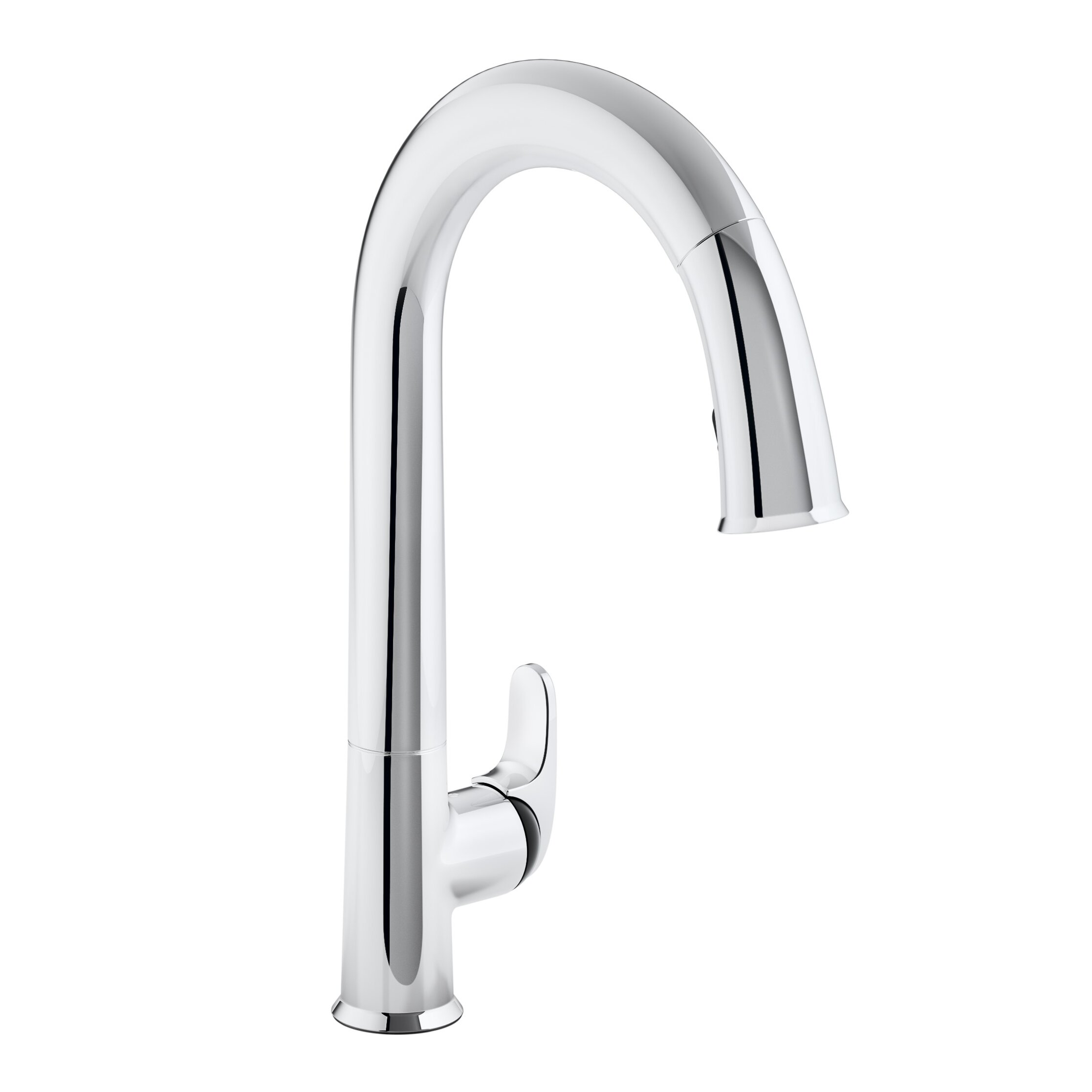 magnetic kitchen faucet kohler sensate touchless kitchen faucet with 15 1 2 quot pull 14093