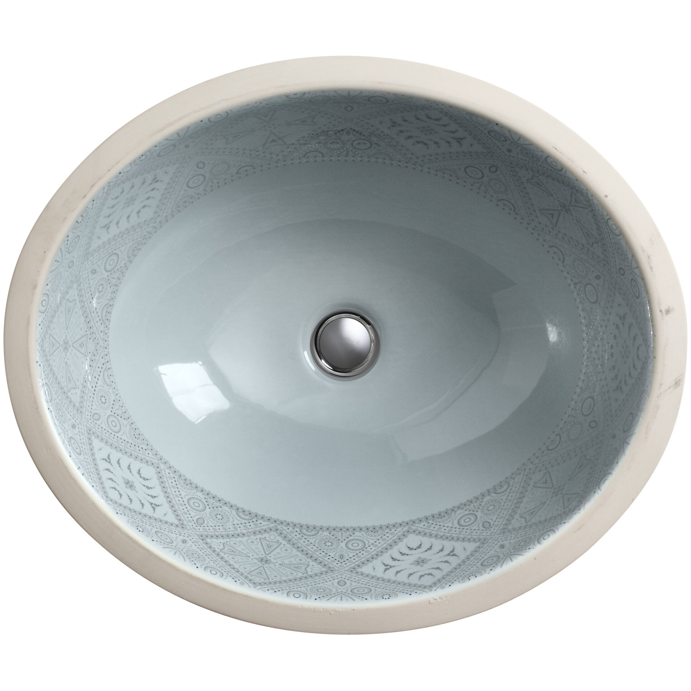 Kohler caravan collection nepal on caxton undermount for Kitchen sink in nepal