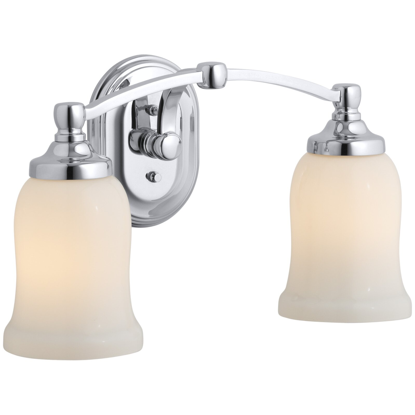Kohler Bathroom Vanity Lights : Kohler Bancroft 2 Light Vanity Light & Reviews Wayfair