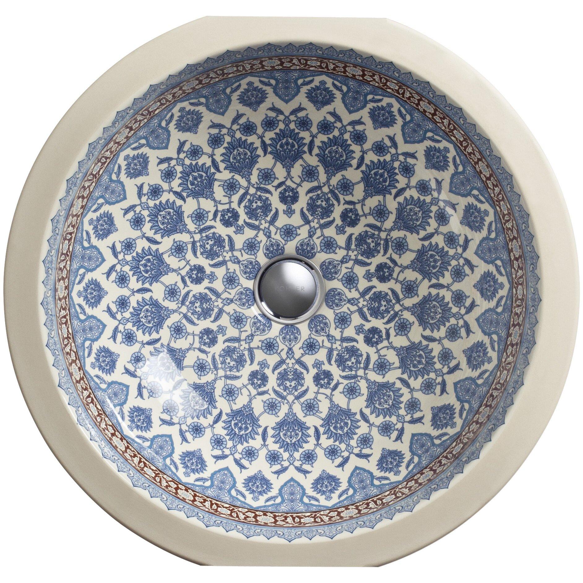 Kohler Marrakesh Design On Camber Undermount Bathroom Sink
