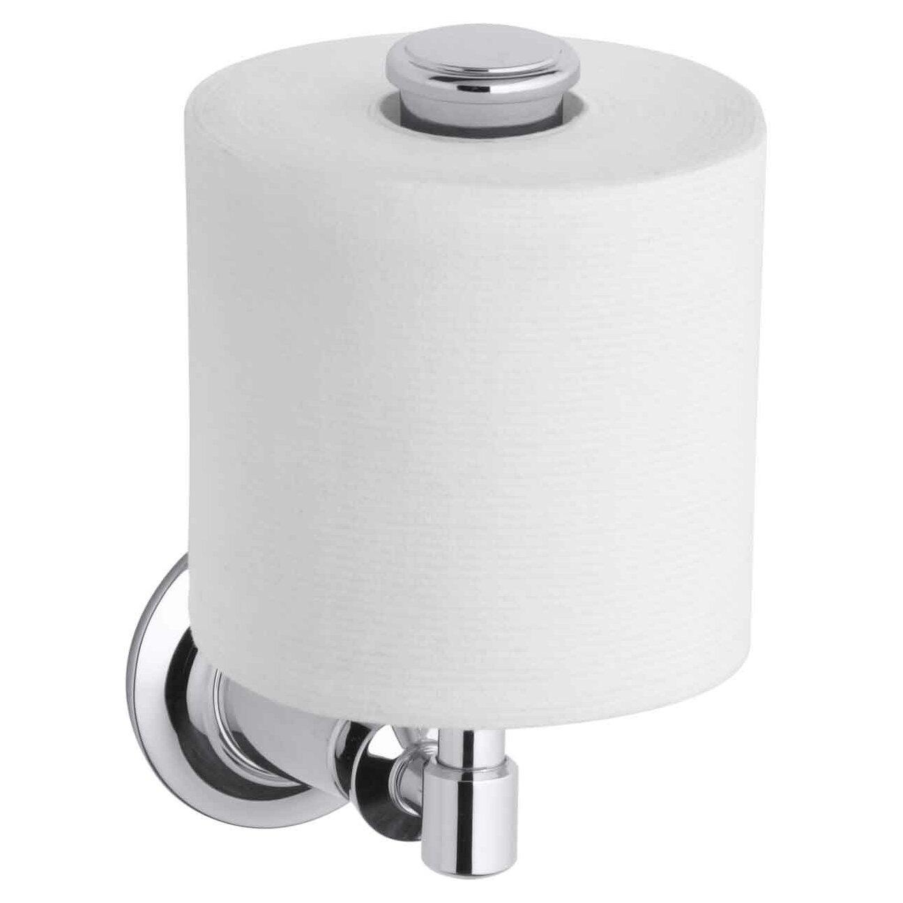kohler archer vertical toilet tissue holder reviews wayfair. Black Bedroom Furniture Sets. Home Design Ideas