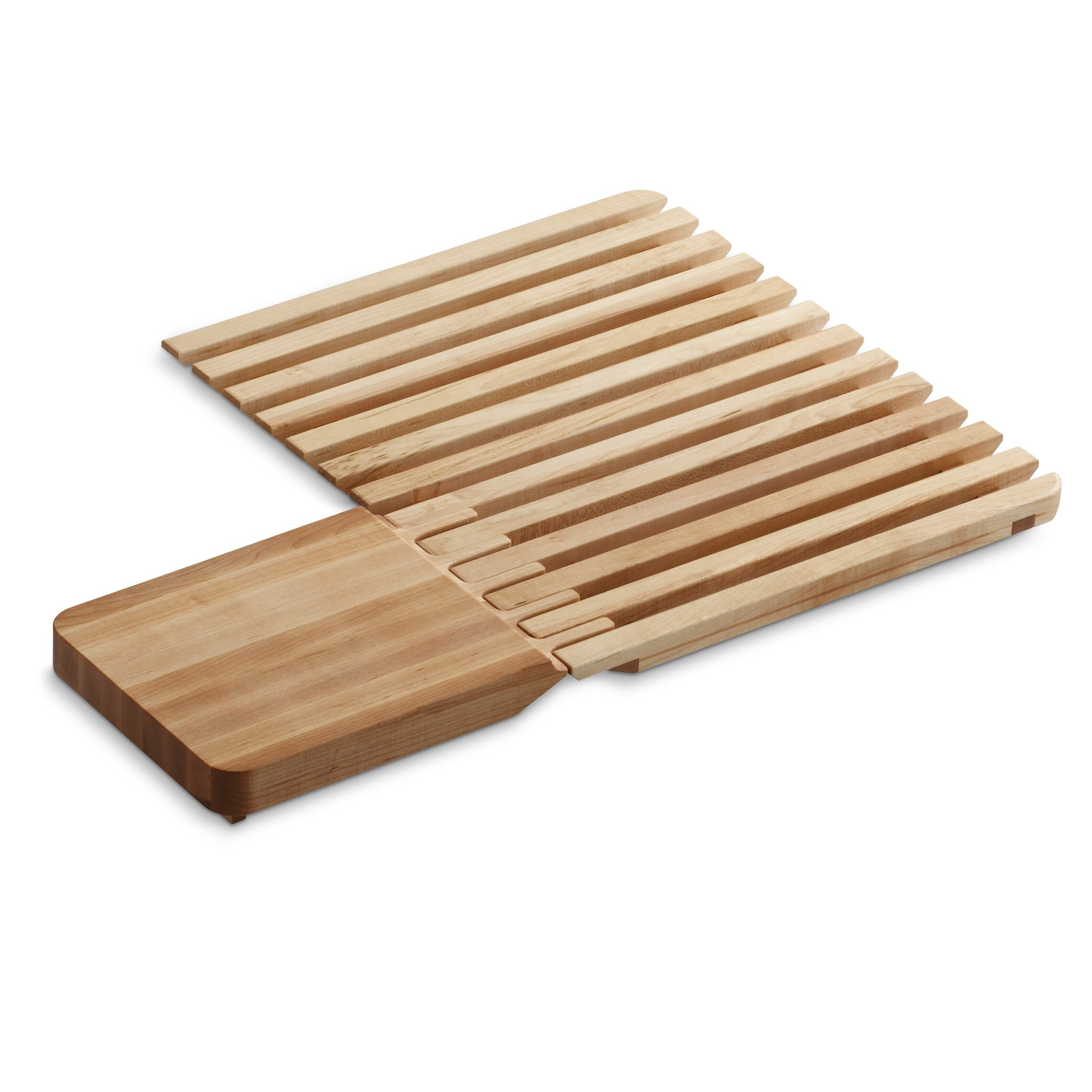 Kohler Epicurean Hardwood Cutting Board And Drain Board