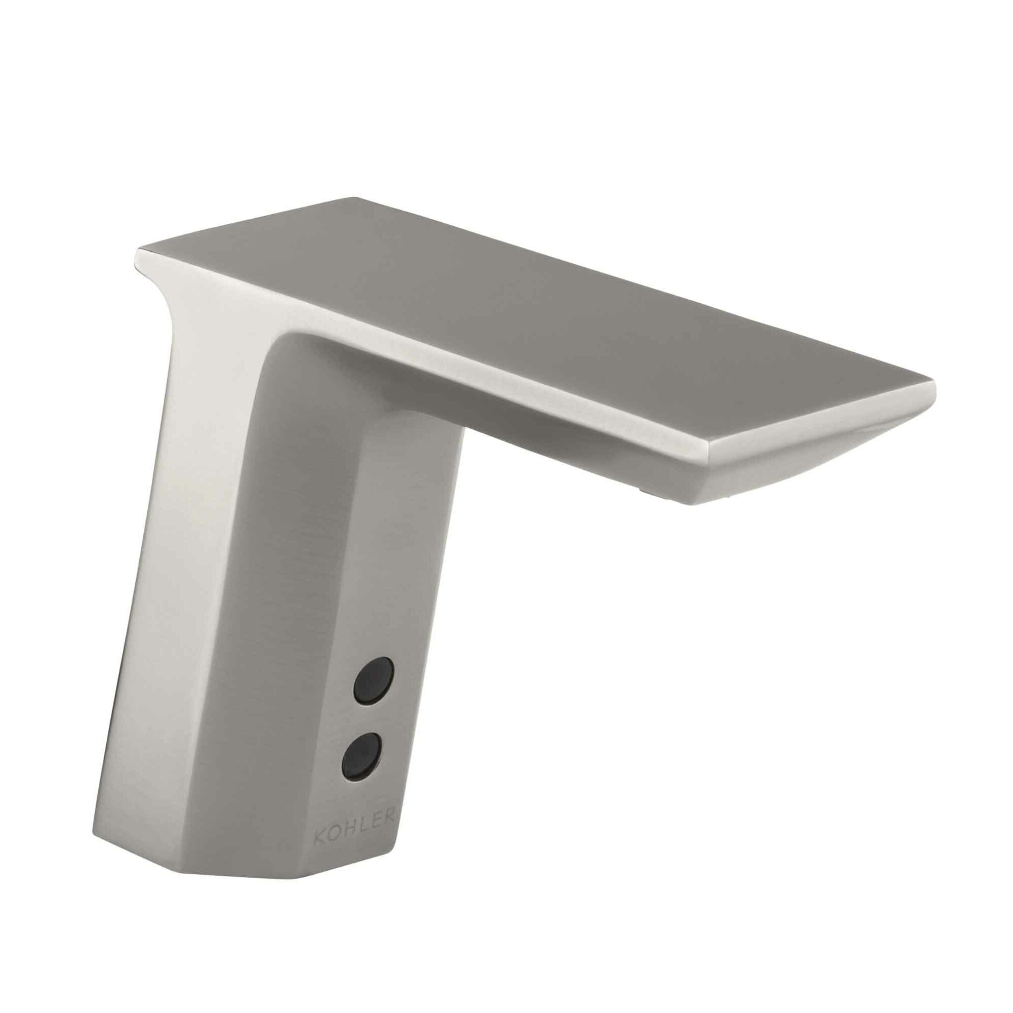 Kohler Geometric Single Hole Touchless Dc Powered Commercial Bathroom Sink Faucet With Insight