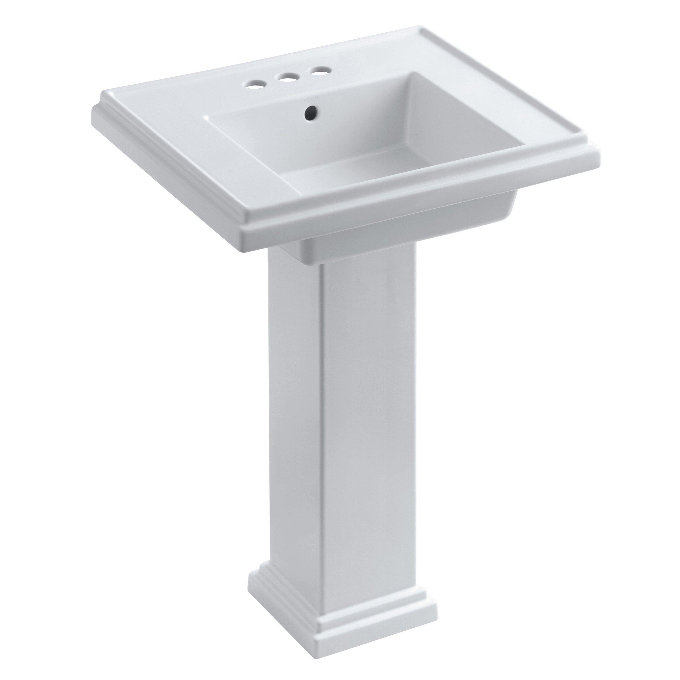 Tresham Pedestal Sink : Kohler Tresham 24
